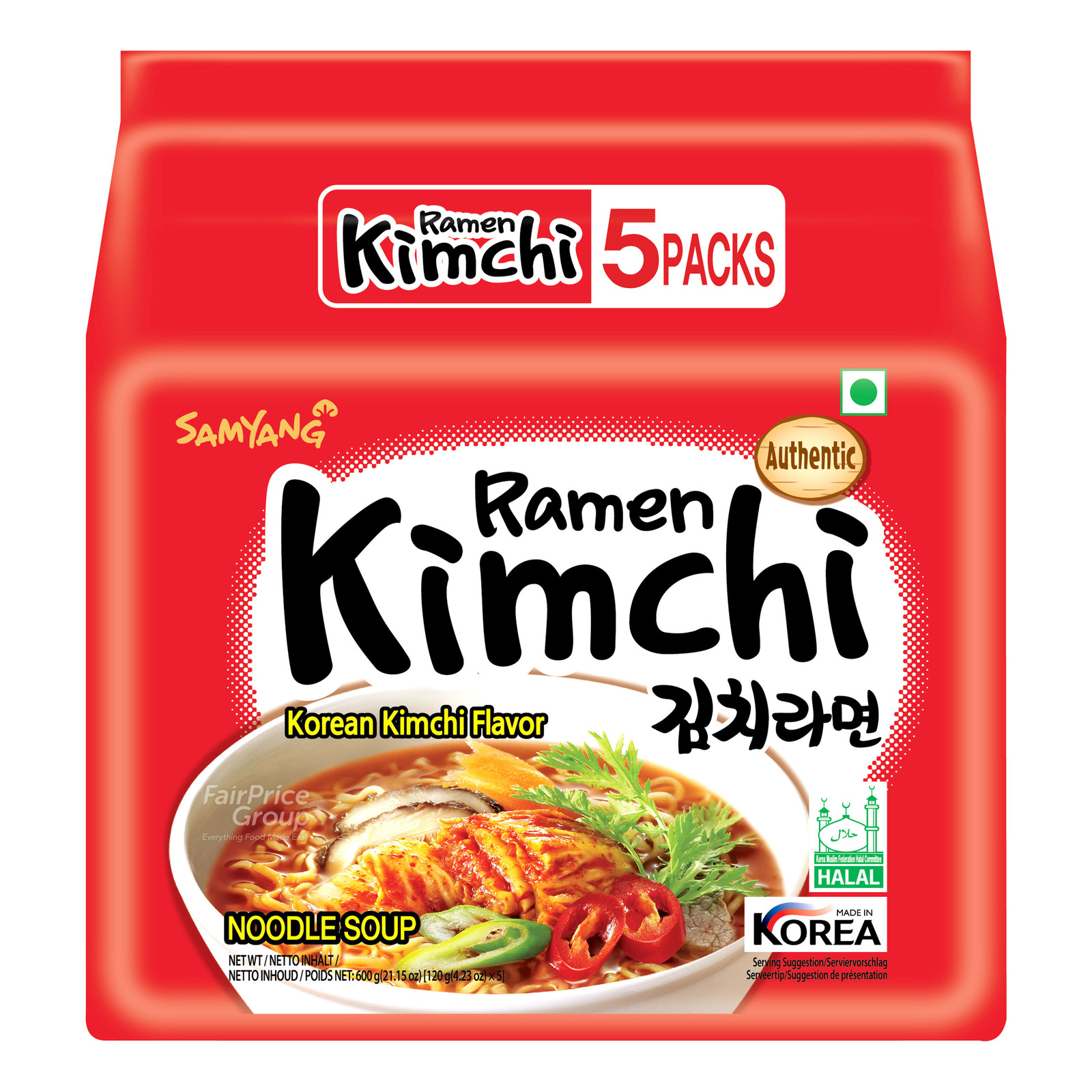 Samyang Korean Instant Noodle - Korean Kimchi