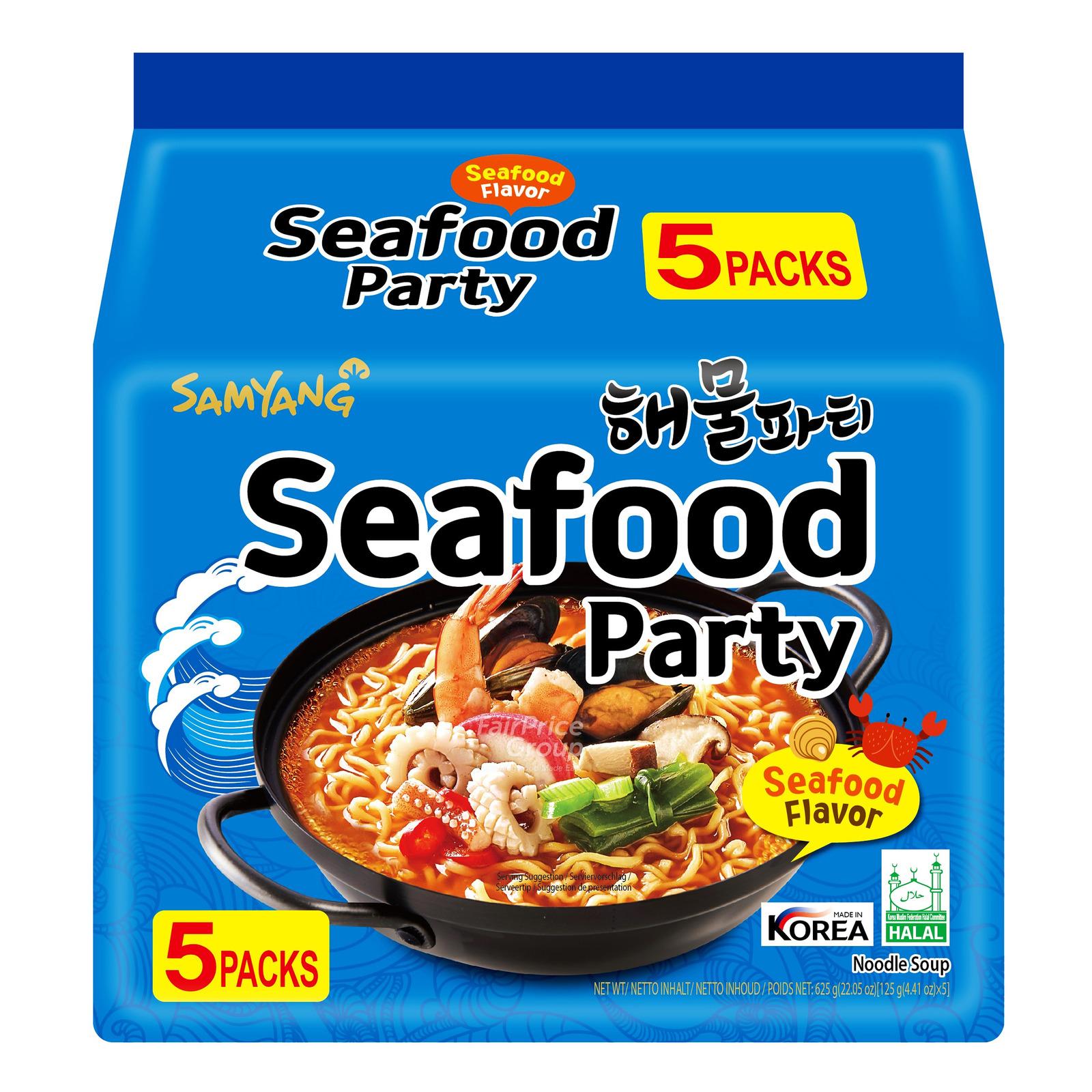 Samyang Korean Instant Noodle - Seafood
