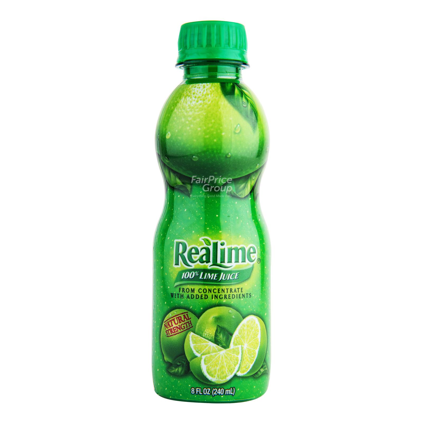 ReaLime 100% Lime Bottle Juice