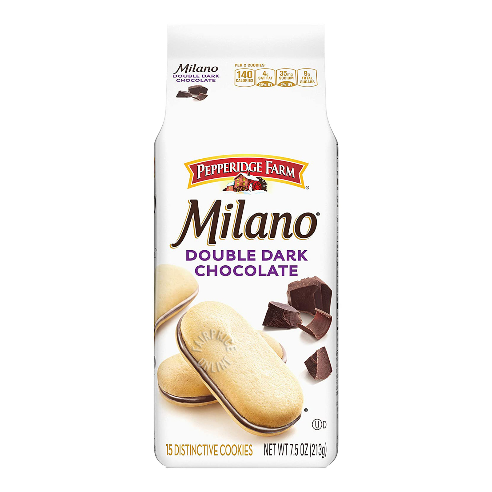 PEPPERIDGE FARM Milano Cookies - Mint Chocolate 198g