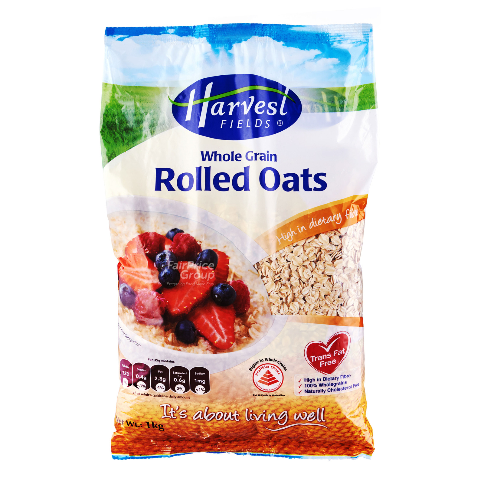 Harvest Fields Rolled Oats - Whole Grain
