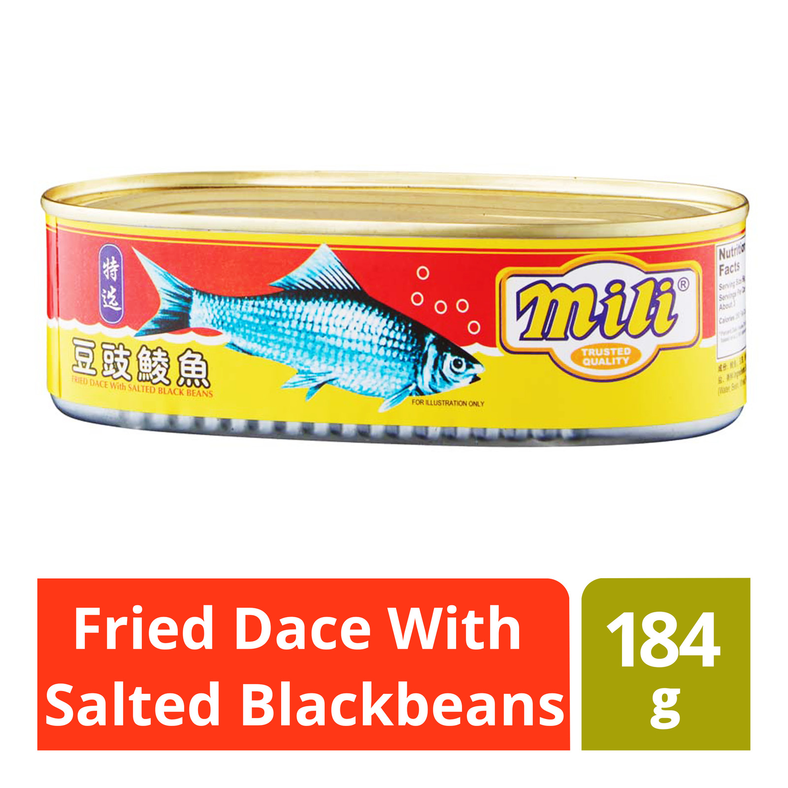 Mili Fried Dace with Salted Blackbeans