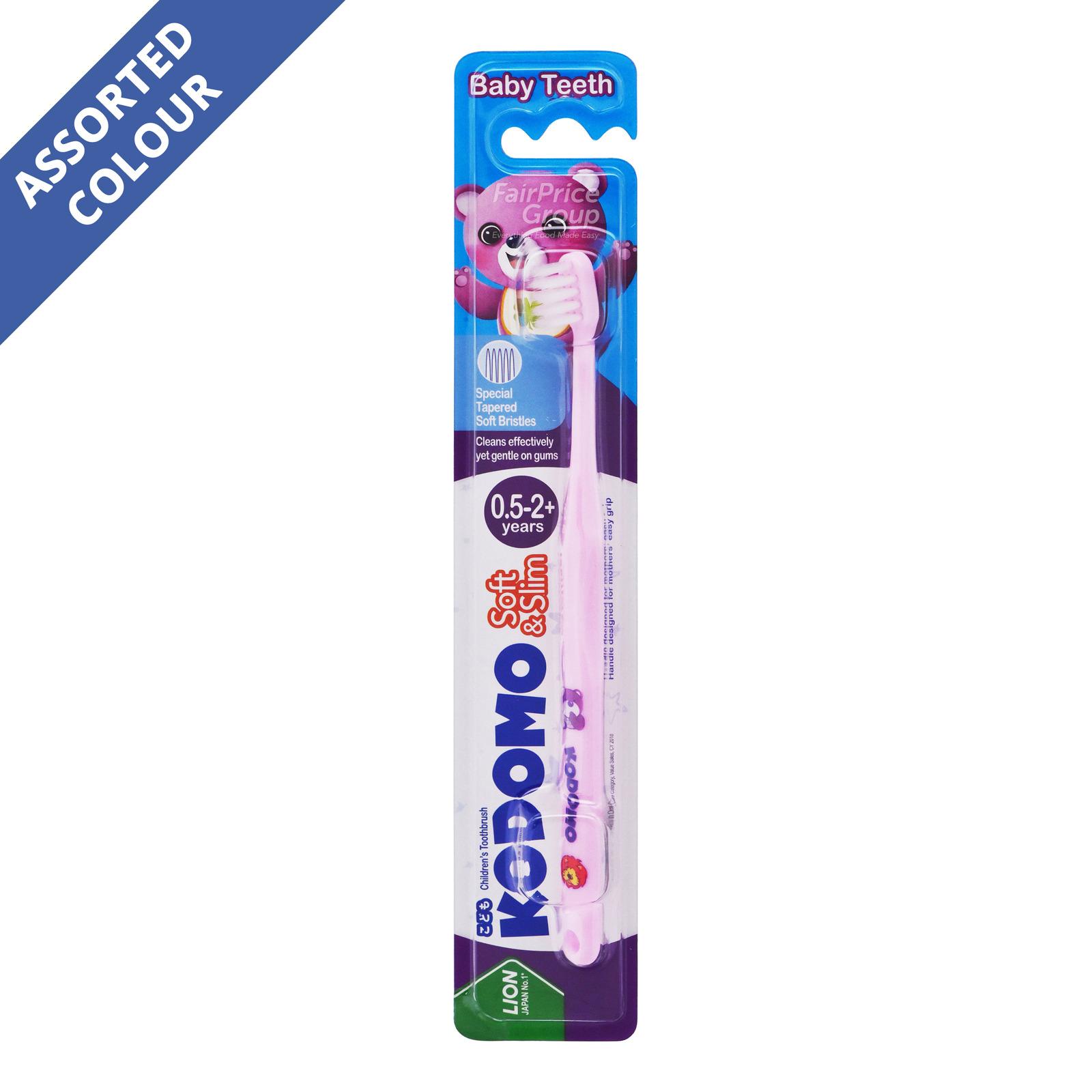 Kodomo Children Toothbrush - Soft & Slim (0.5 - 2 years)