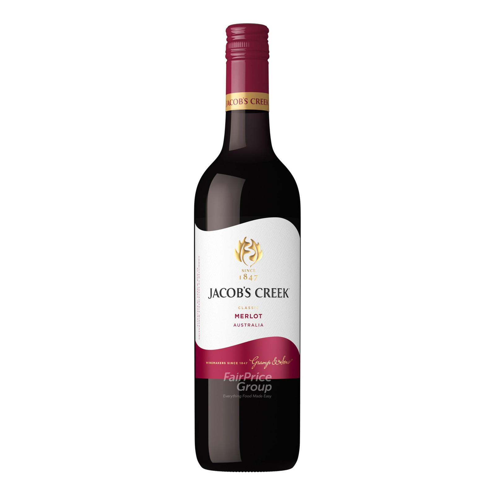 Jacob's Creek Classic Red Wine - Merlot