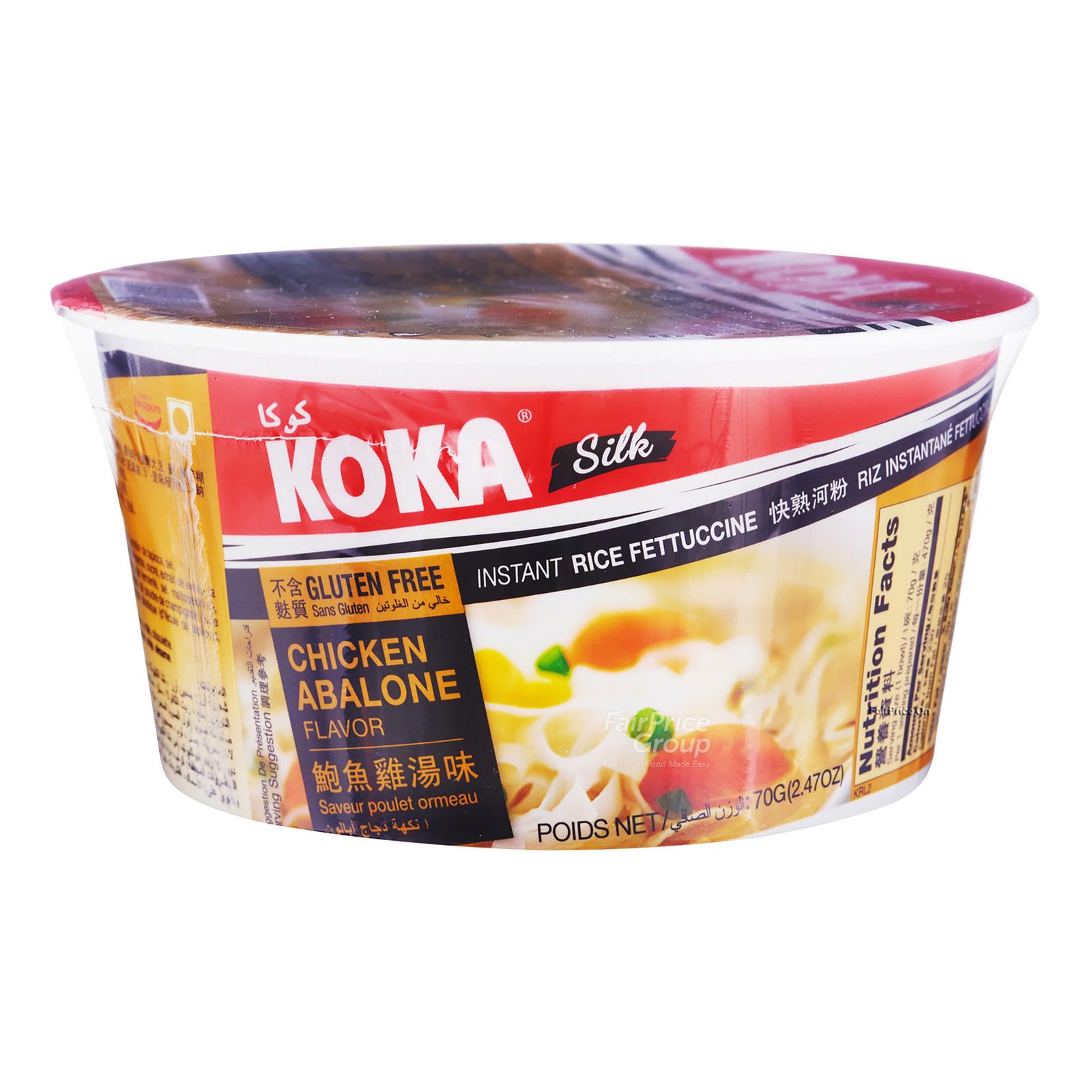 Koka Instant Silk Rice Fettuccine - Chicken Abalone
