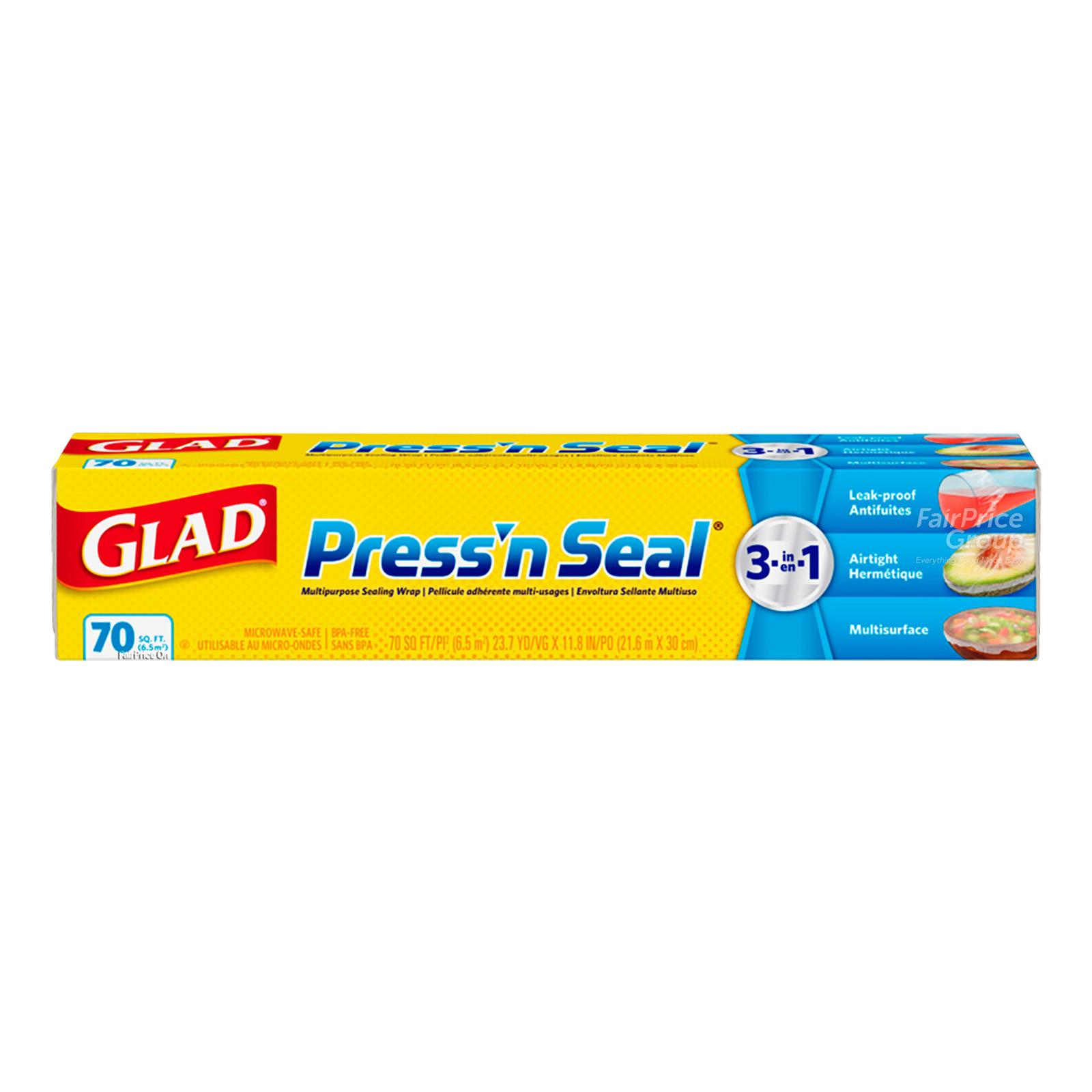 Glad Press' n Seal Wrap (70 square feet)
