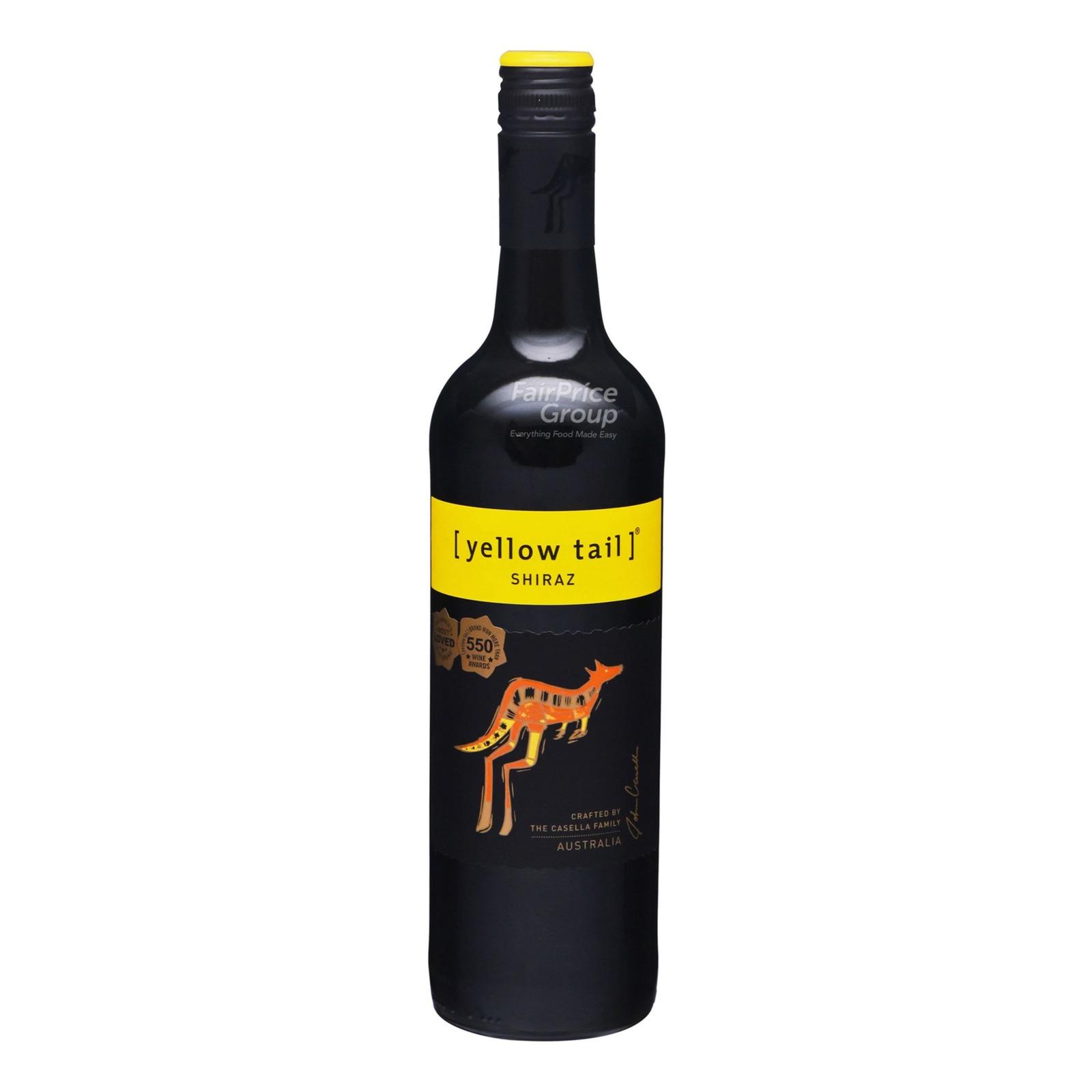 Yellow Tail Red Wine - Shiraz
