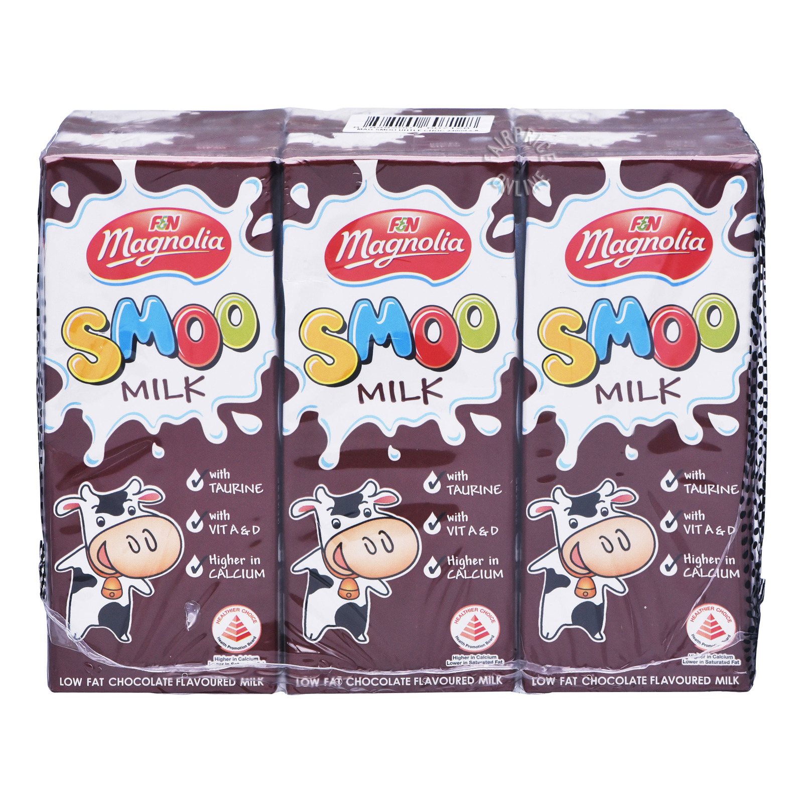 F&N Magnolia UHT Smoo Packet Milk - Chocolate