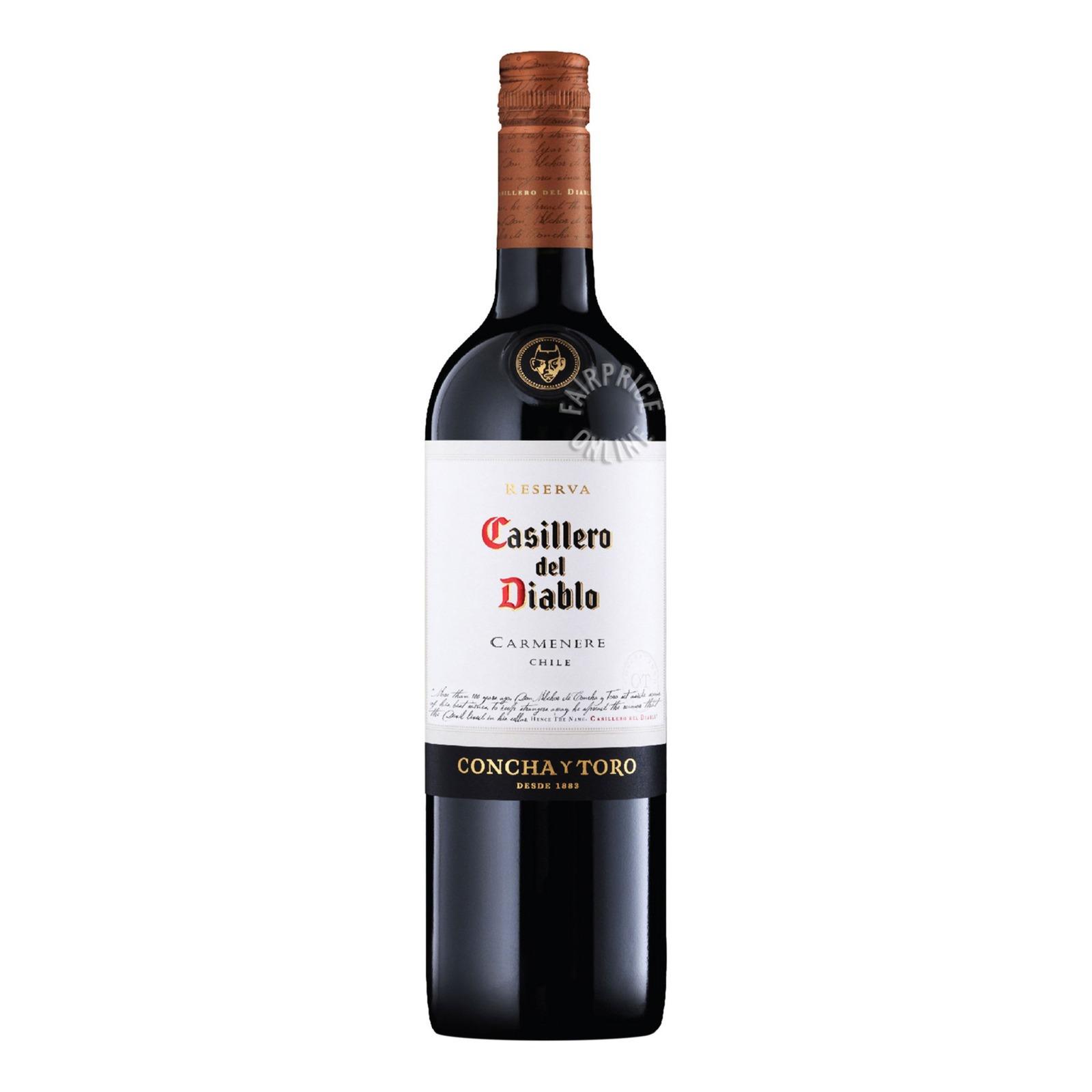 Casillero Del Diablo Reserva Red Wine - Carmenere