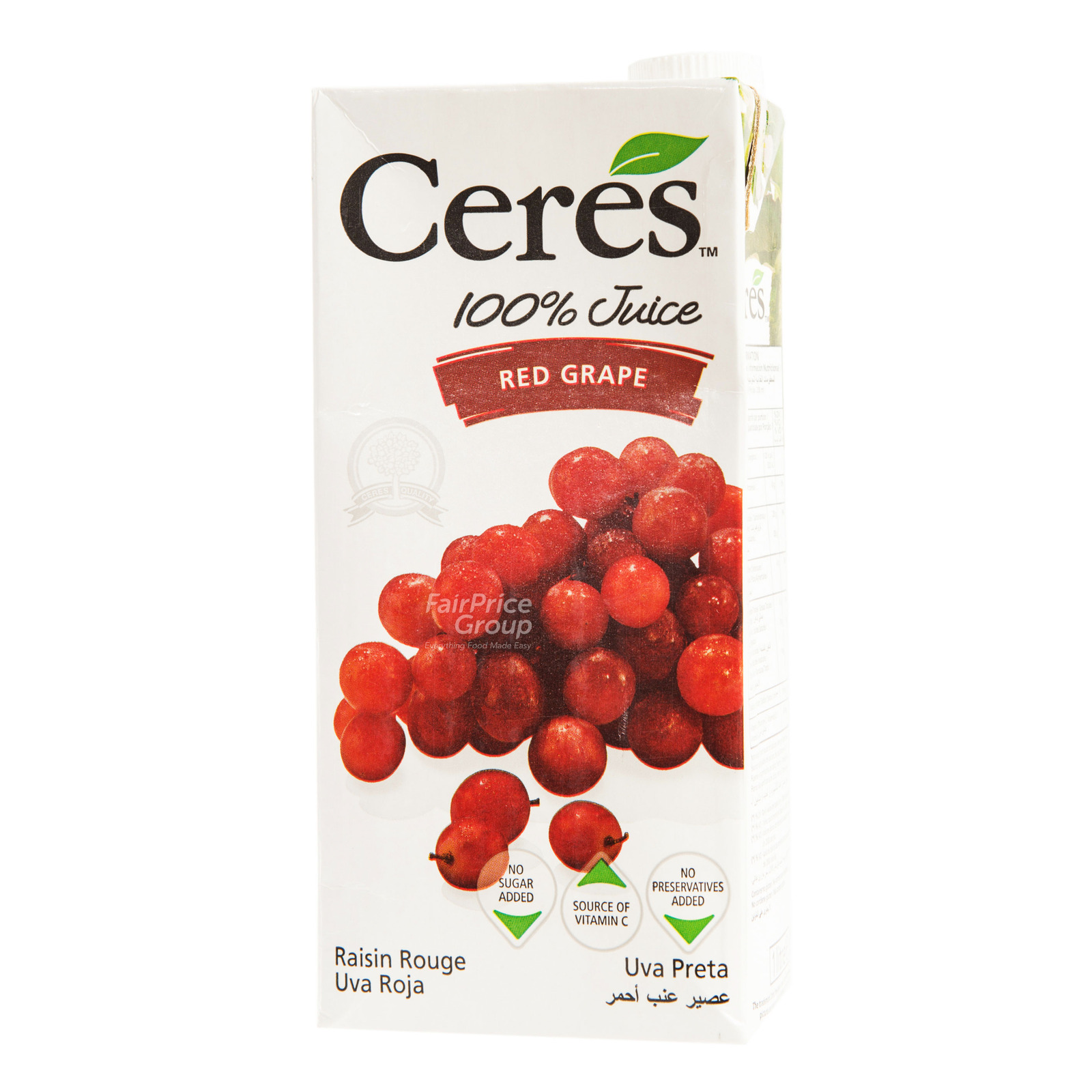 Ceres 100% Juice Packet Drink - Red Grape