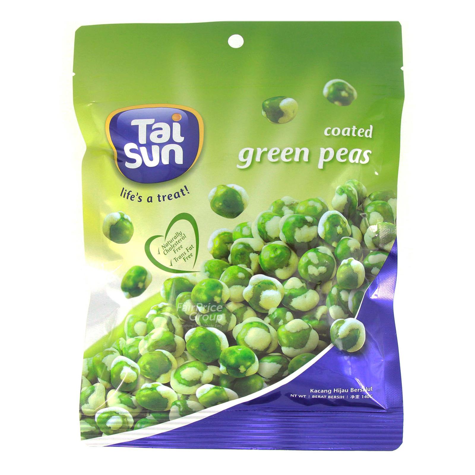 TAI SUN Coated Green Peas 140g