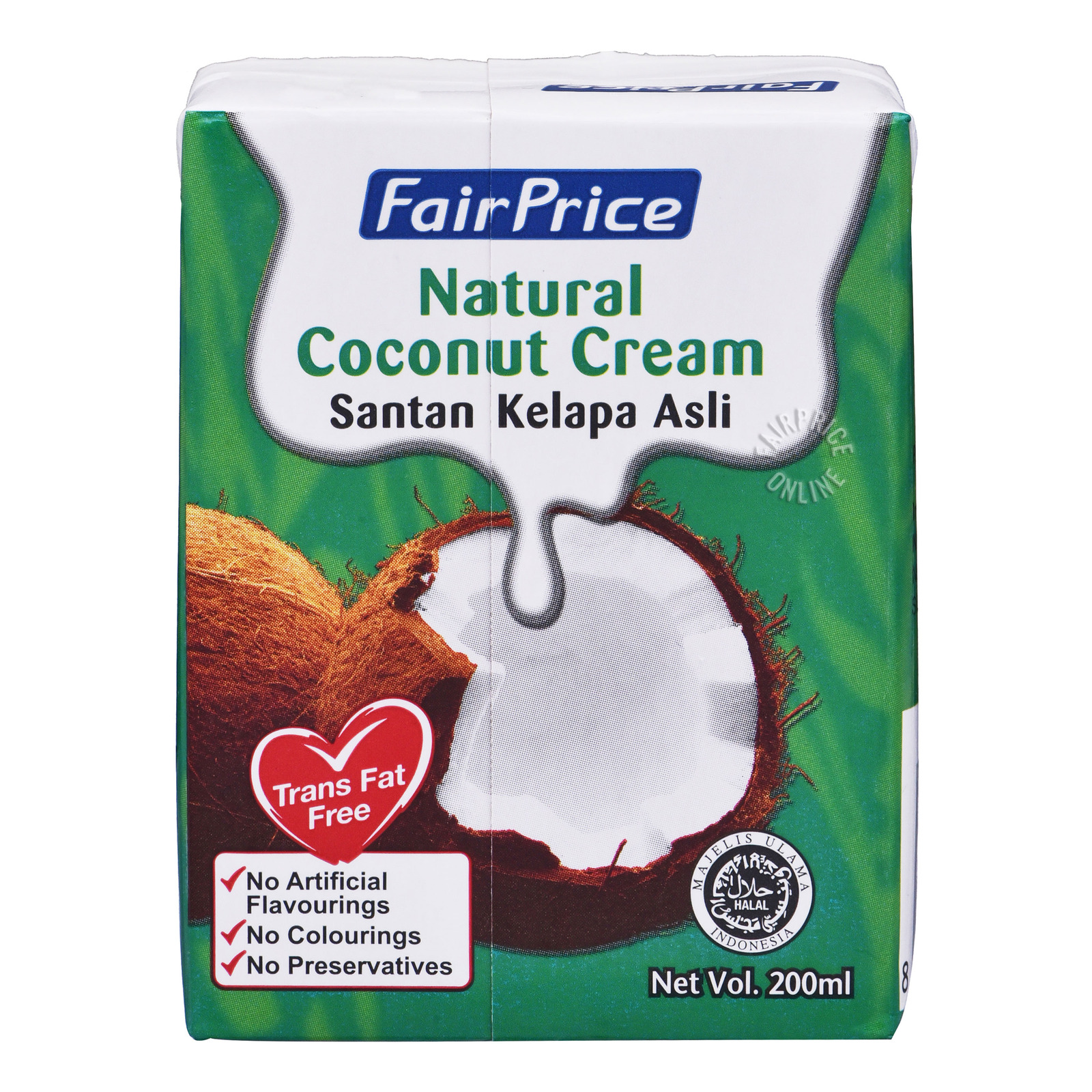 FairPrice Natural Coconut Cream