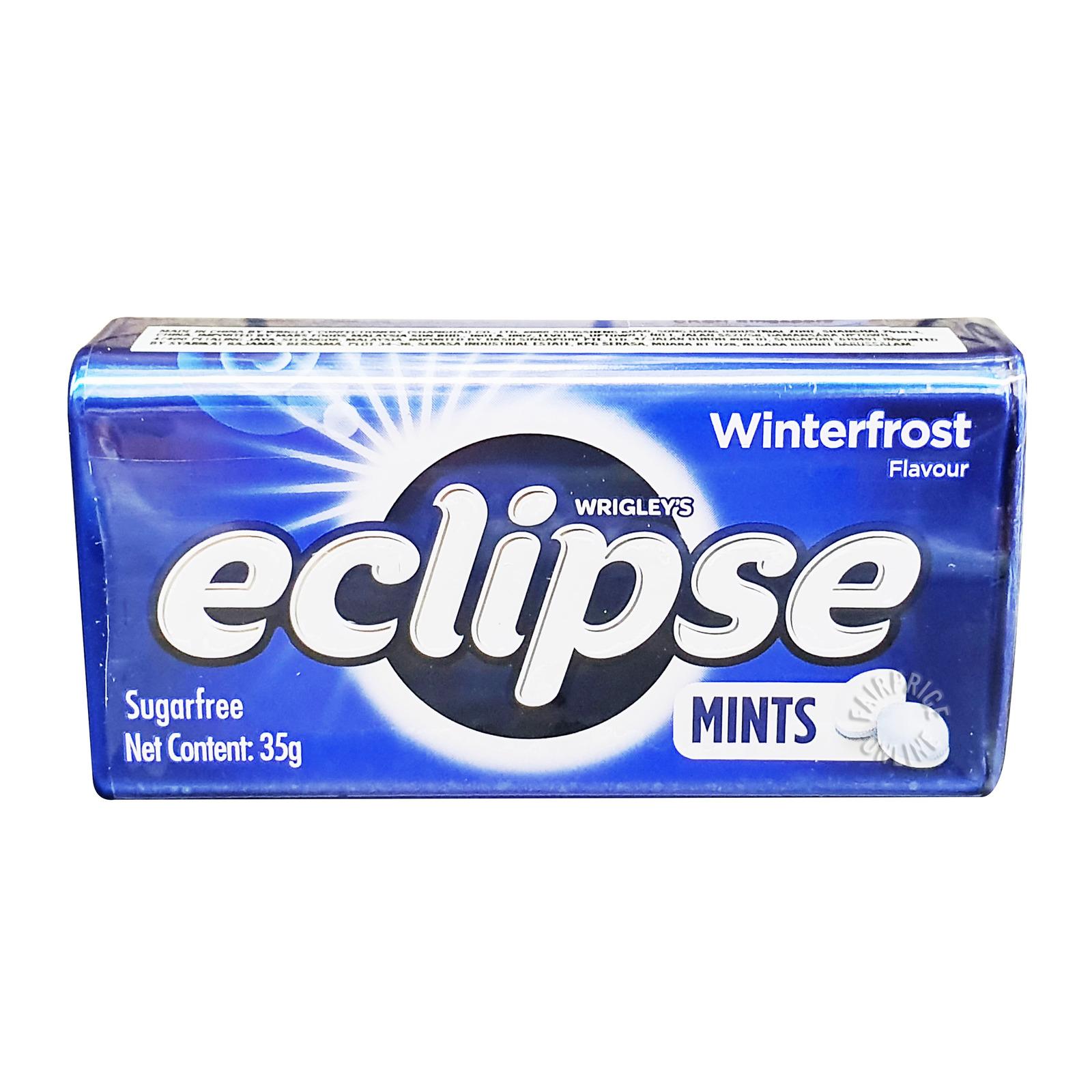 Wrigley's Eclipse Sugar Free Mints Candy - Winterfrost