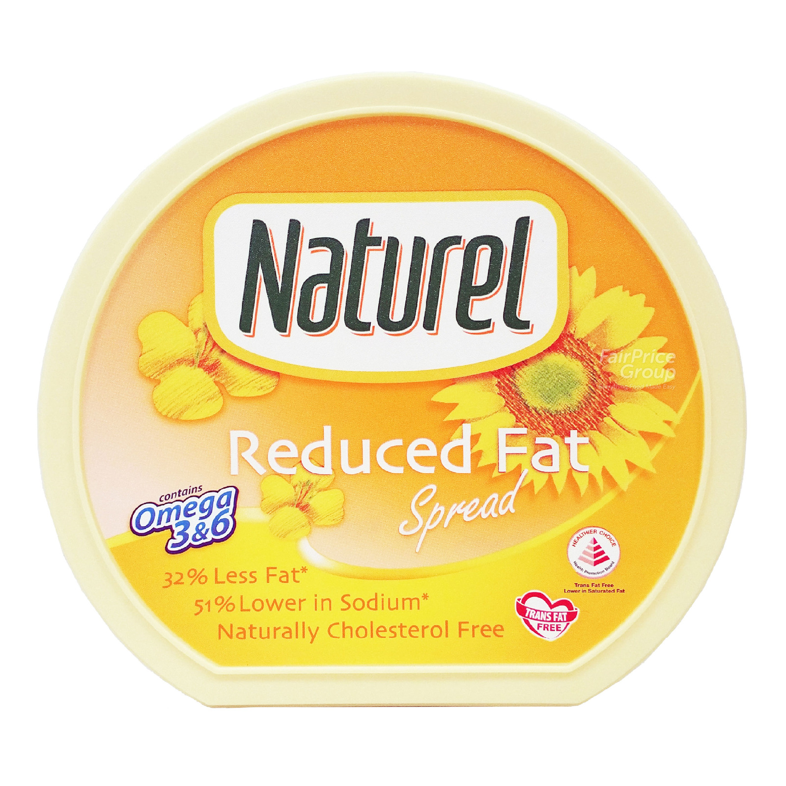 Naturel Cholesterol Free Spread - Reduced Fat