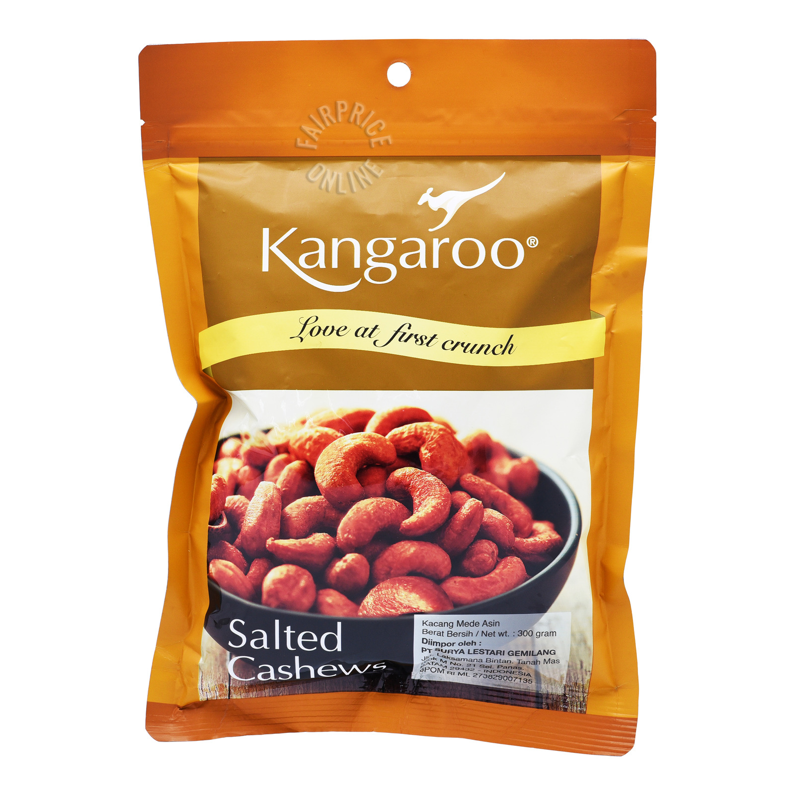 TONG GARDEN Salted Cashew Nuts 400g