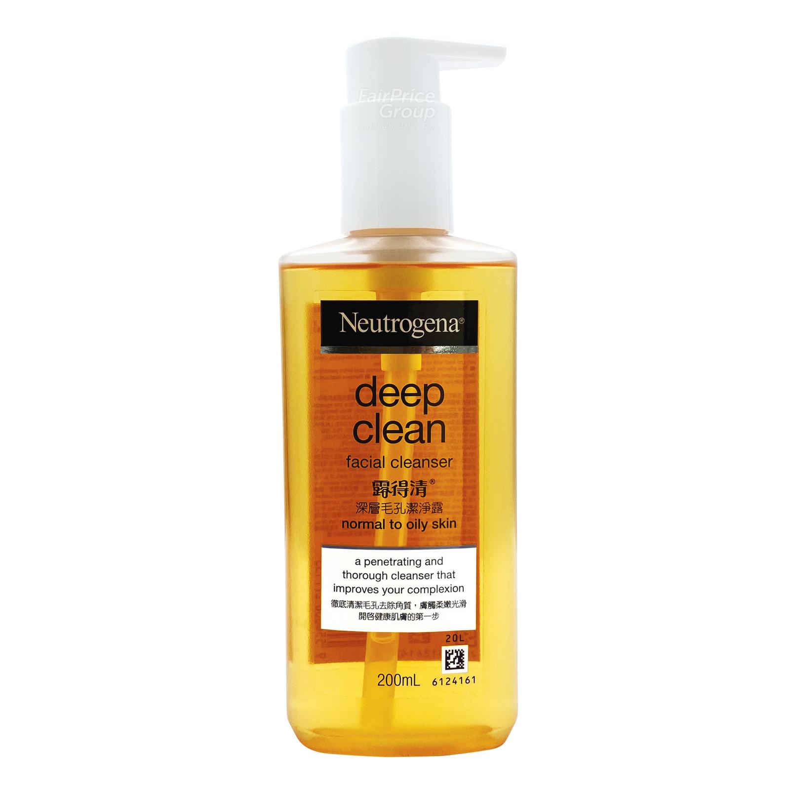 Neutrogena Deep Clean Foaming Cleanser, 100g
