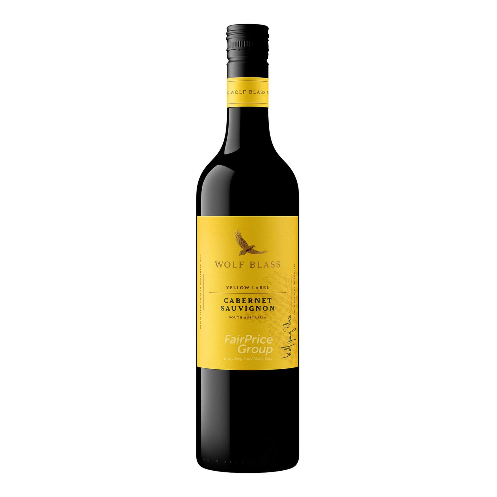 Wolf Blass Yellow Label Red Wine - Cabernet Sauvignon