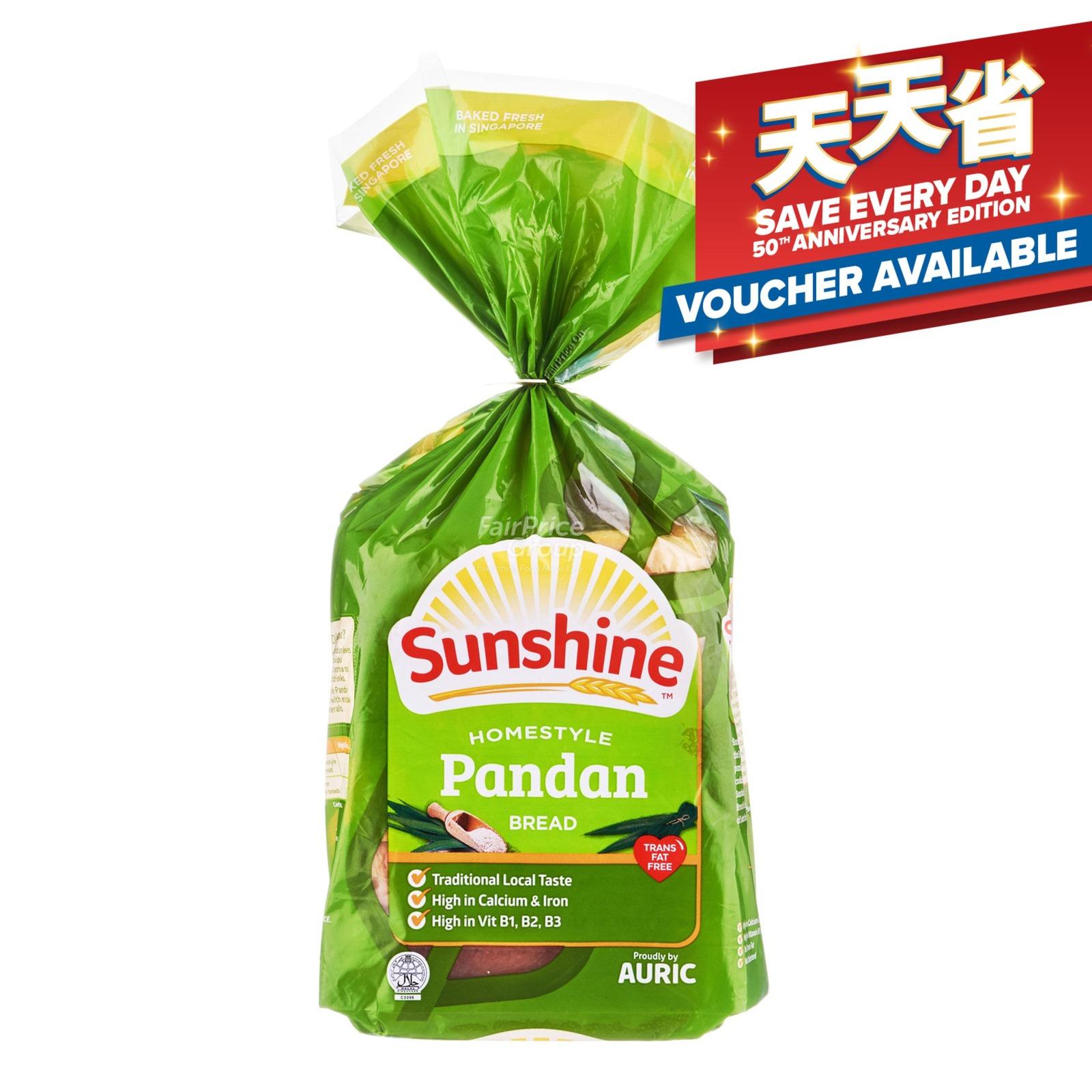 Sunshine Bread - Homestyle Pandan