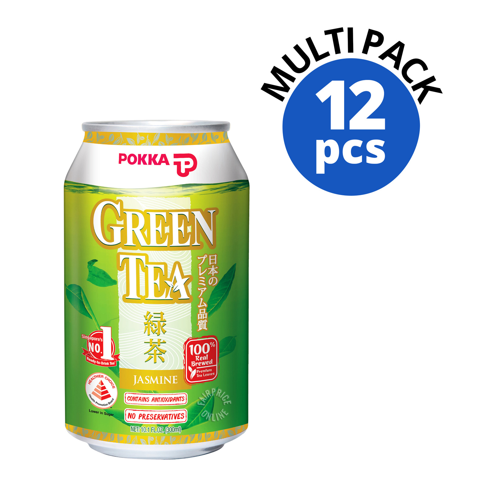 Pokka Can Drink - Jasmine Green Tea