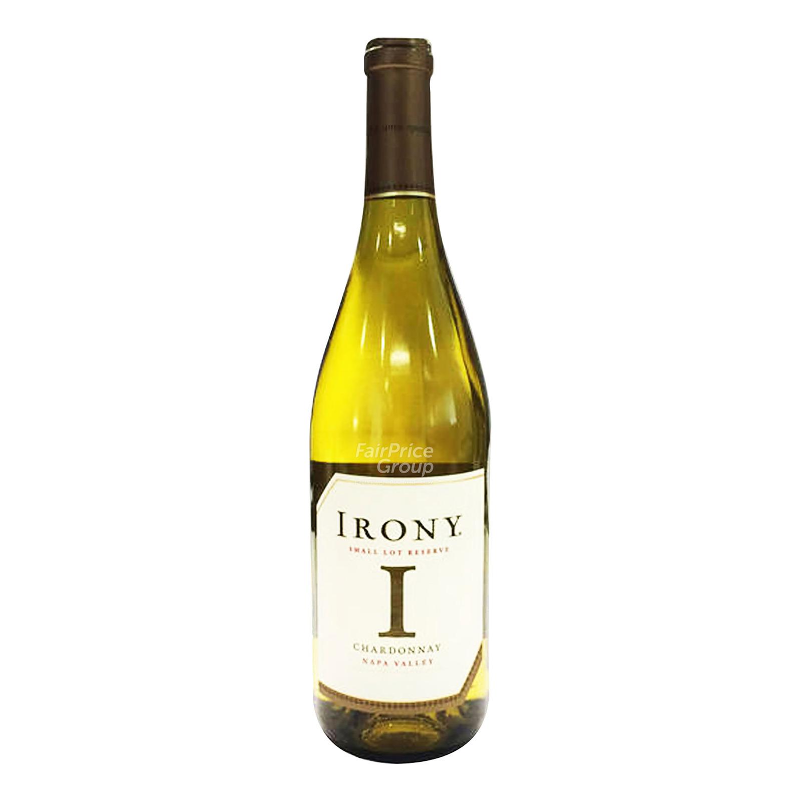 Irony Small Lot Reserve White Wine - Chardonnay
