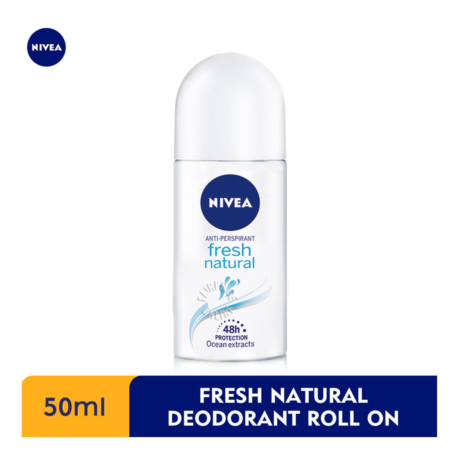 Nivea Anti-Prespirant Roll-On Deodorant - Fresh Natural