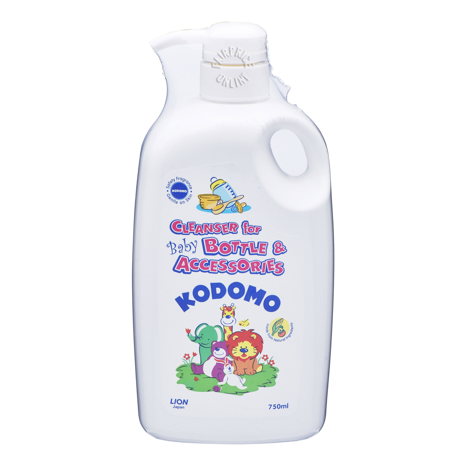 Kodomo Baby Cleanser - Bottle & Accessories
