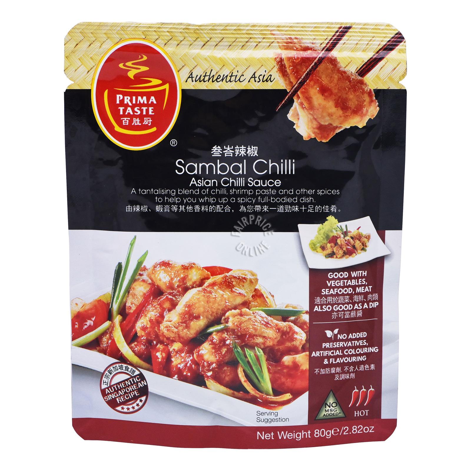 Prima Taste Sauce - Sambal Chili (Asian Chill)