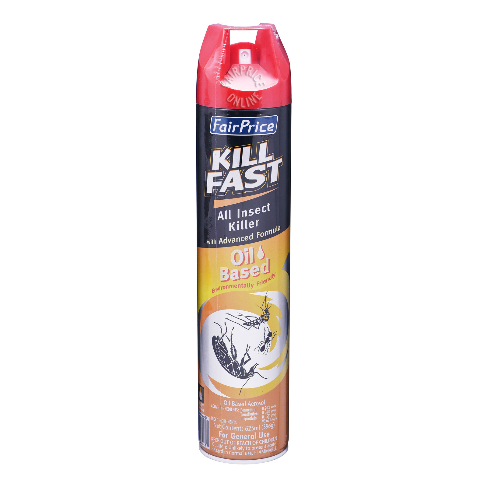 FairPrice Kill Fast All Insect Killer Spray - Oil Based
