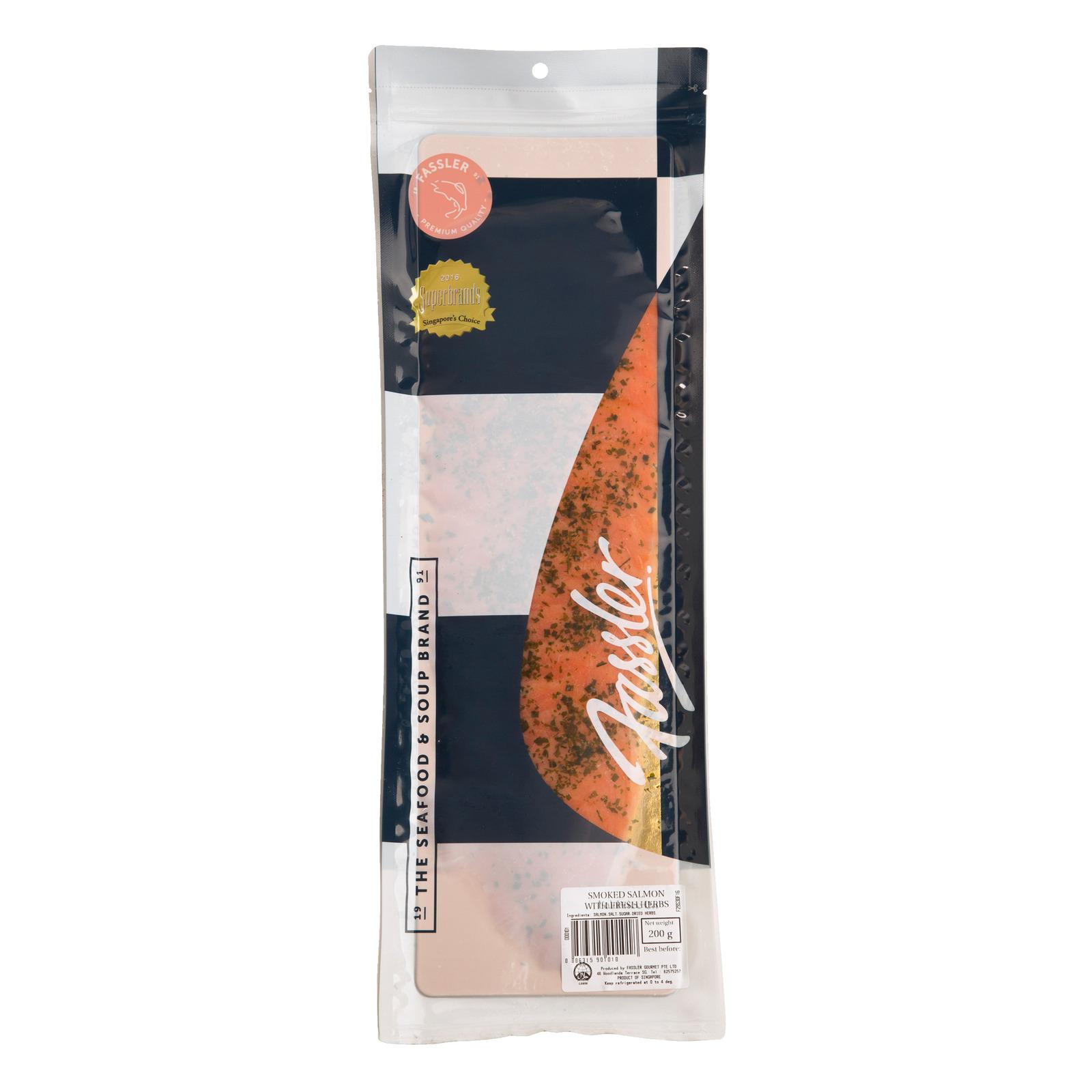 Fassler Smoked Salmon - Fresh Herbs
