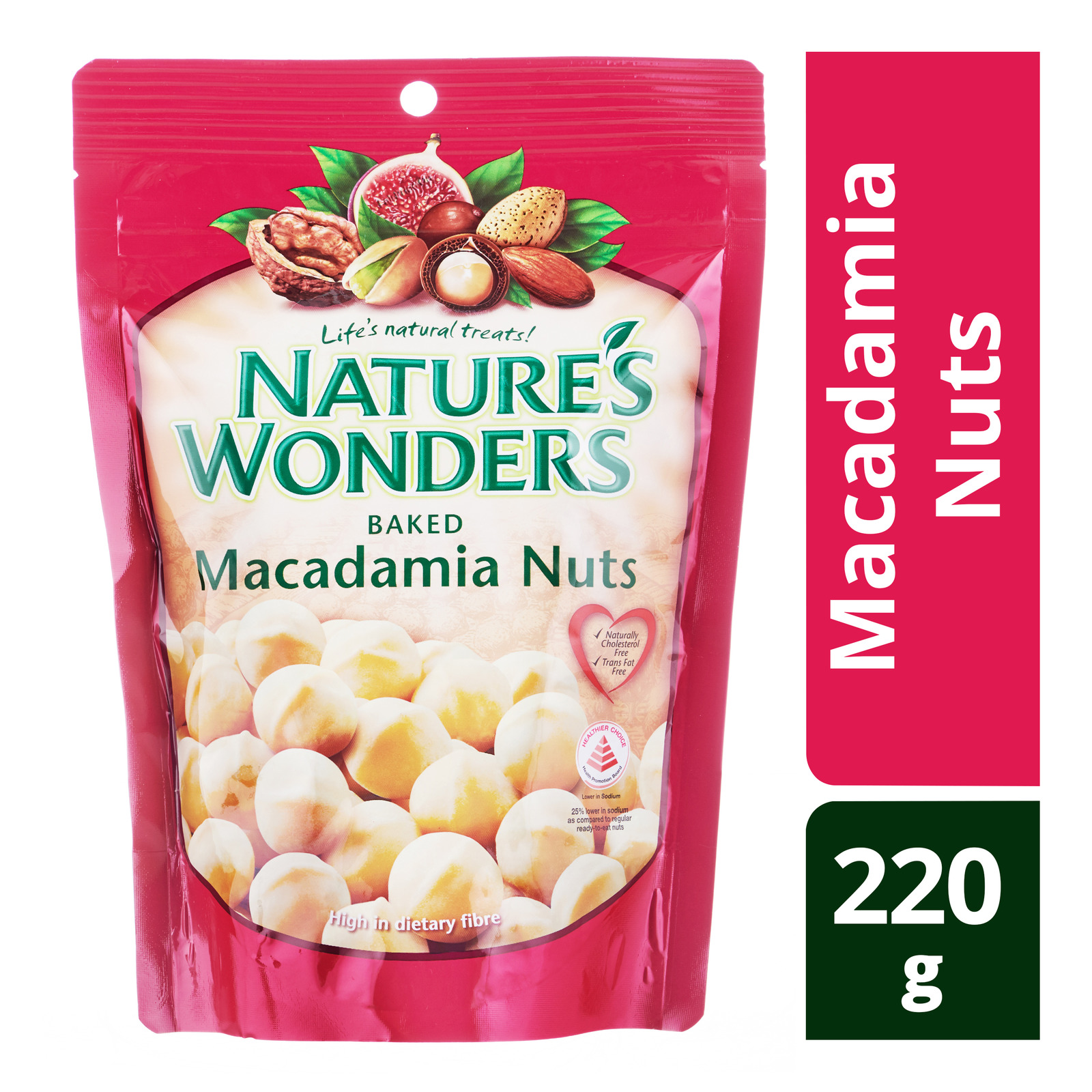 Nature's Wonders Baked Nuts - Macadamia