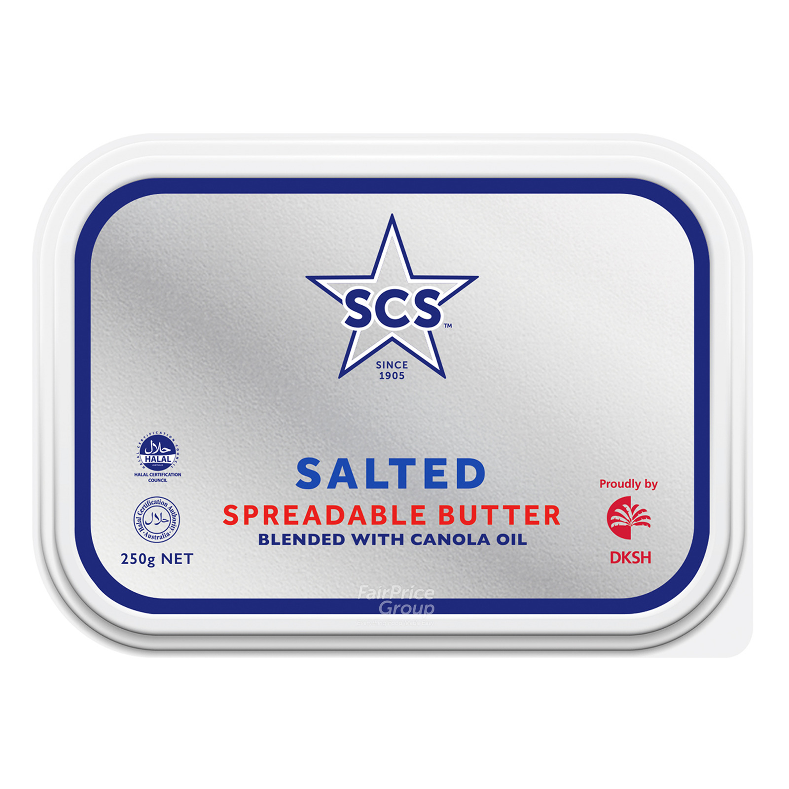SCS Spreadable Butter - Salted