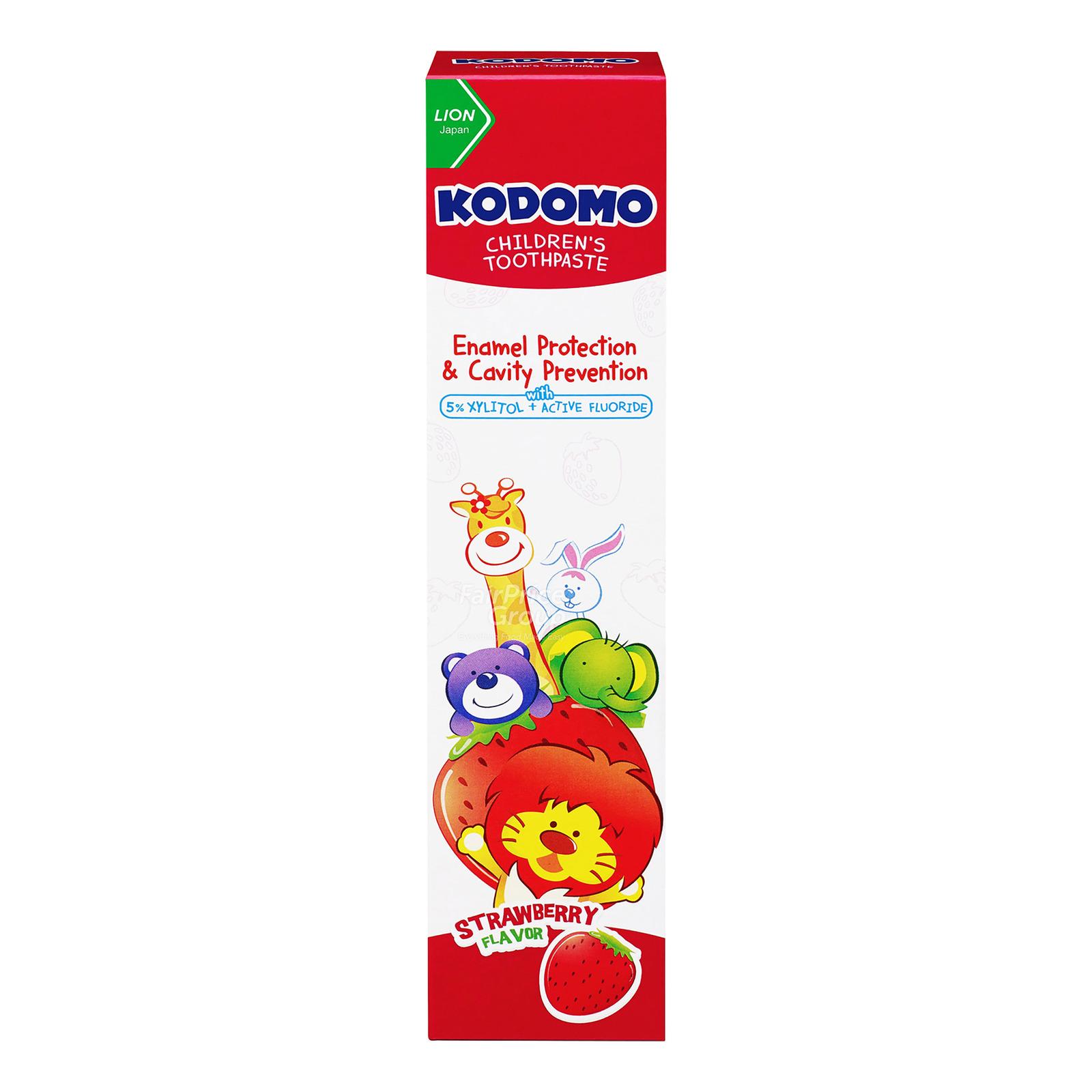 KODOMO Children's Toothpaste - Strawberry 40g