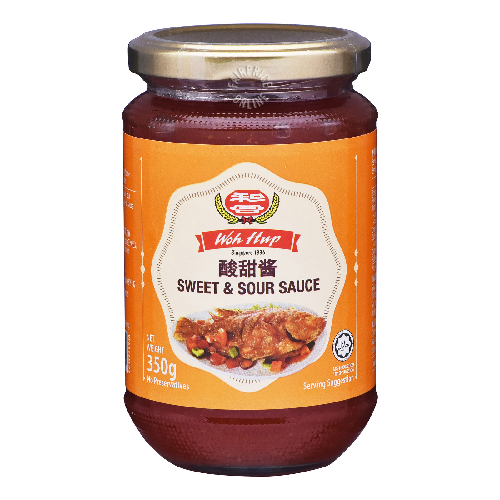 Woh Hup Sauce - Sweet and Sour