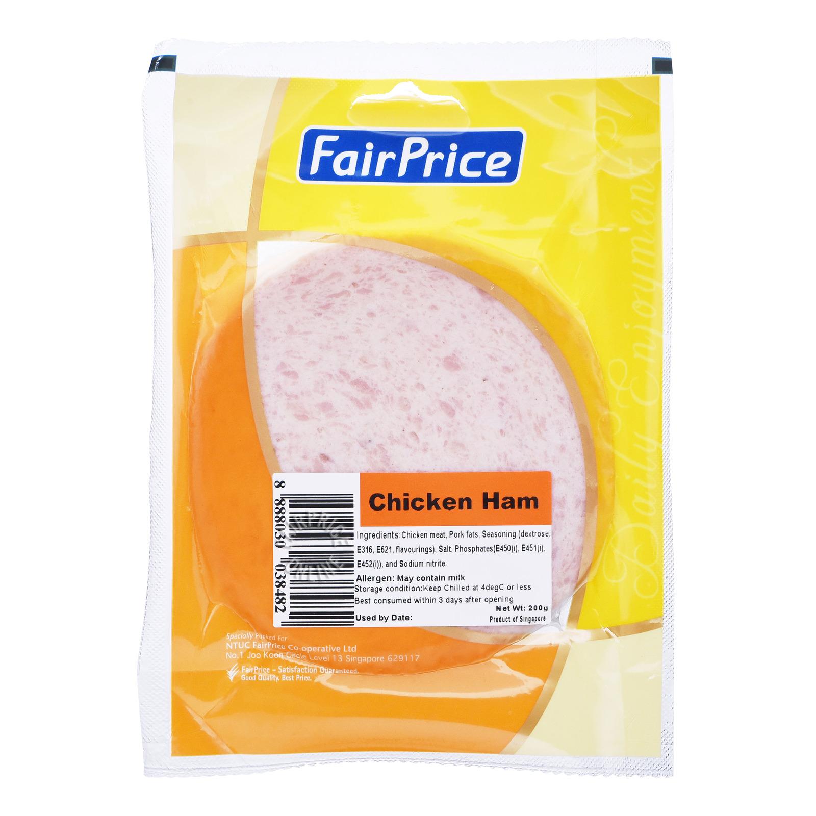 FairPrice Ham - Chicken