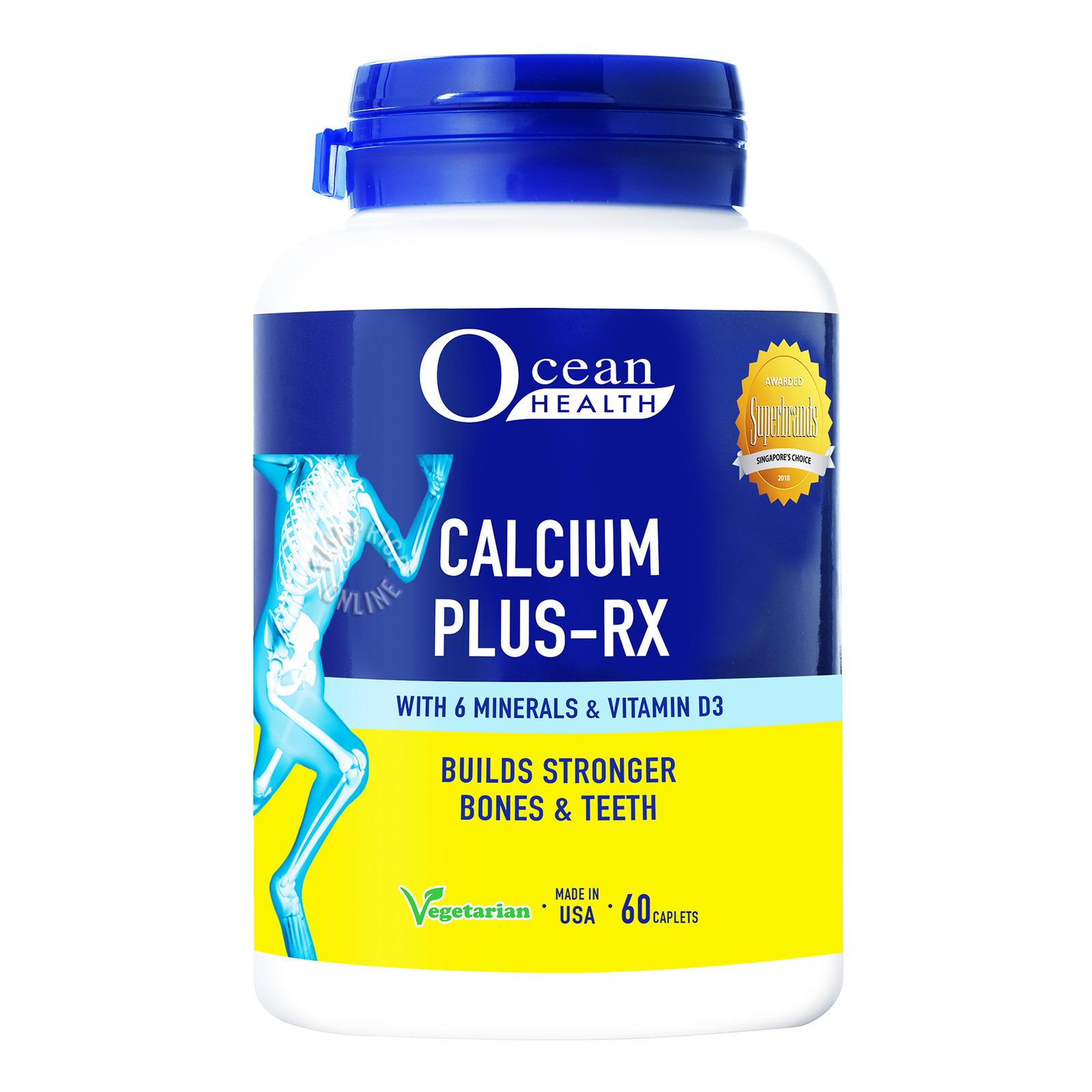 Ocean Health Calcium Plus-RX, 60 caplets