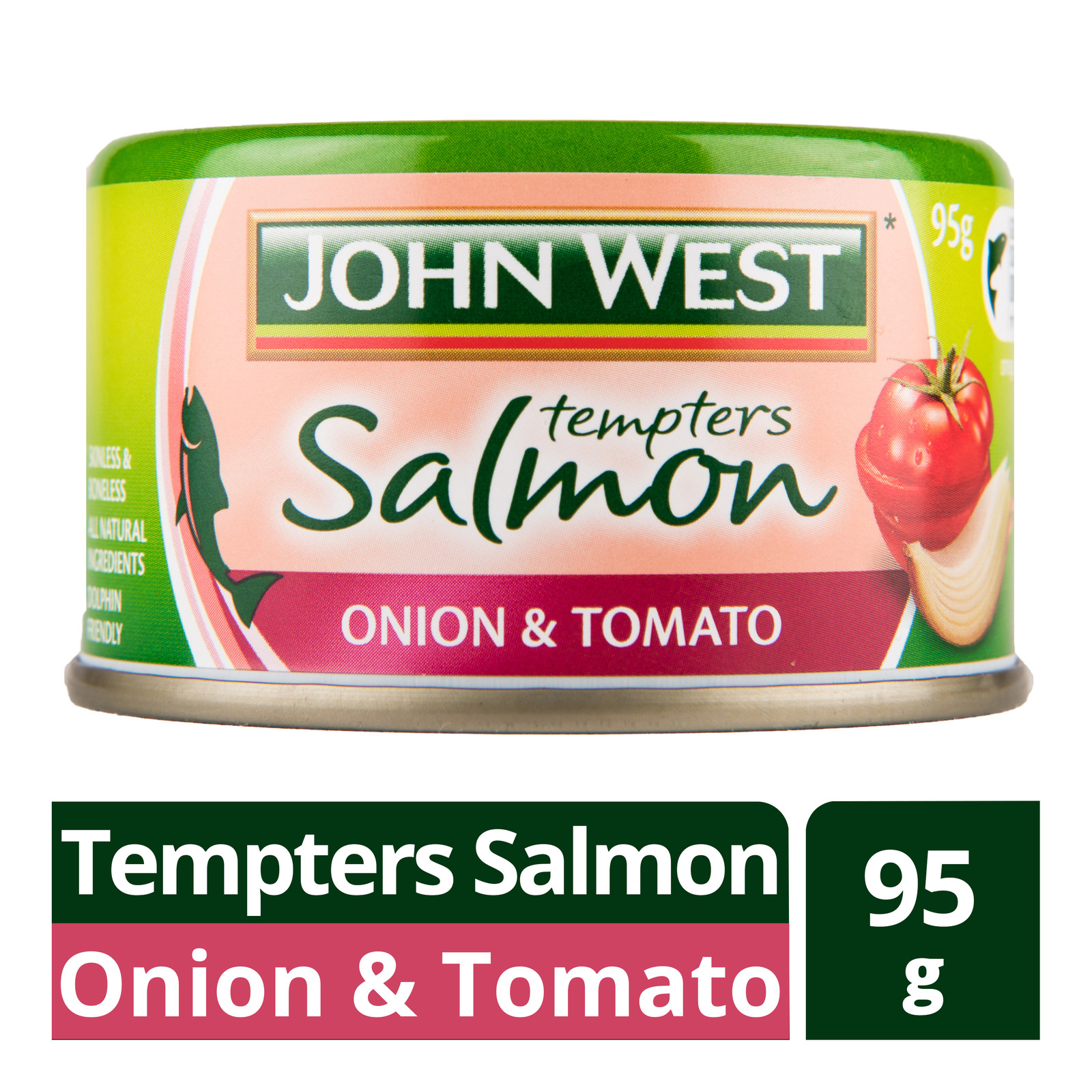 John West Tempters Salmon - Onion & Tomato
