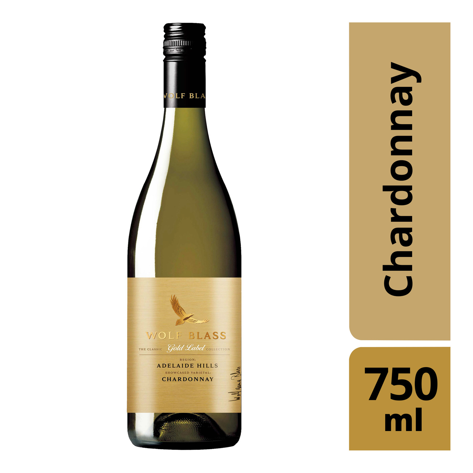 Wolf Blass Gold Label White Wine - Chardonnay