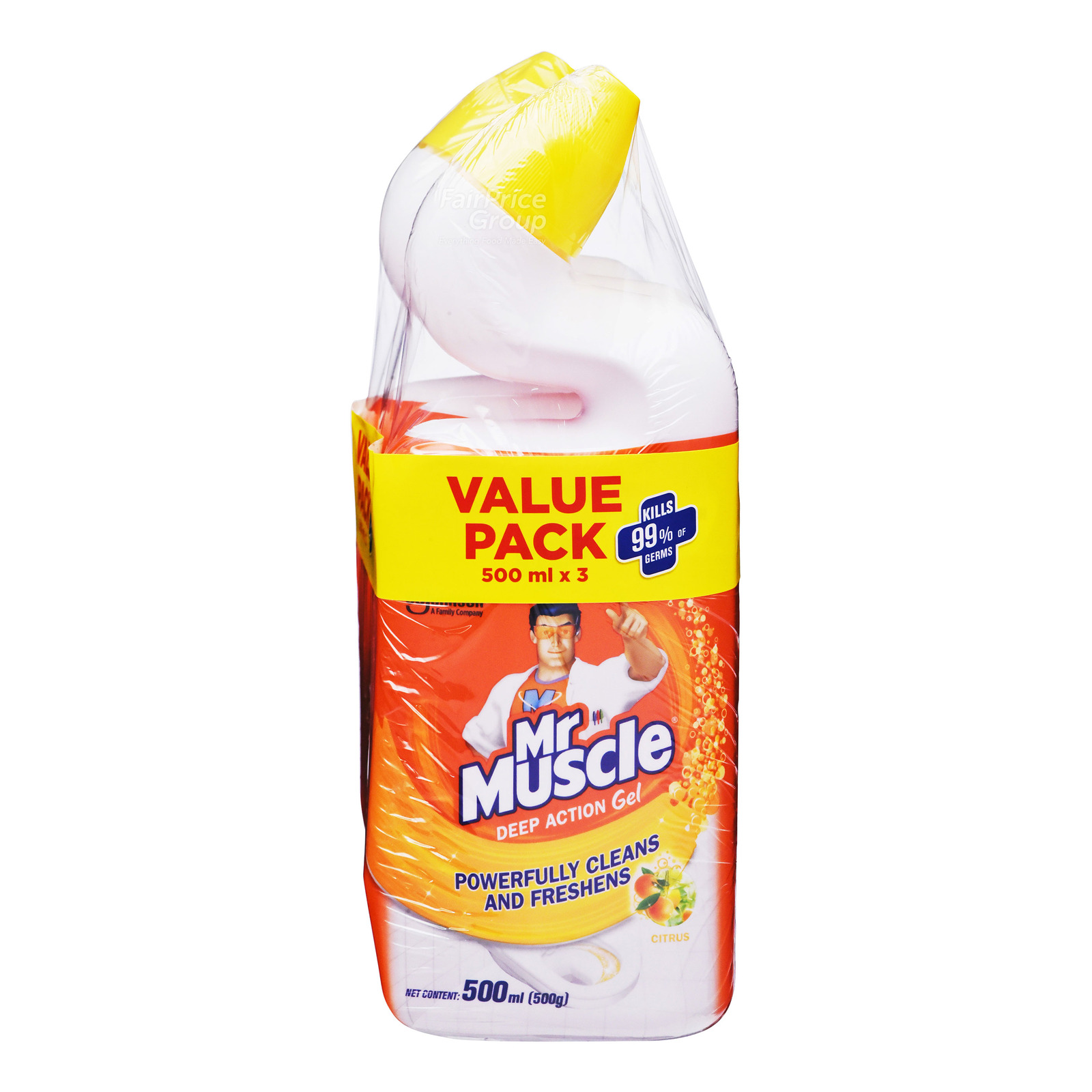 Mr Muscle Toilet Cleaner - Citrus