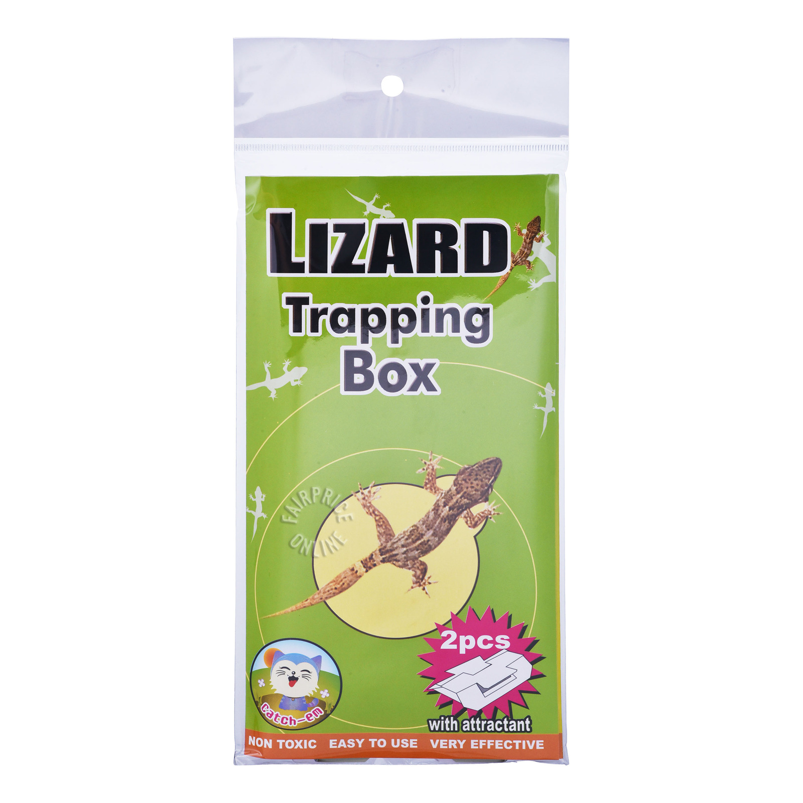 Catch-Em Lizard Trapping Box