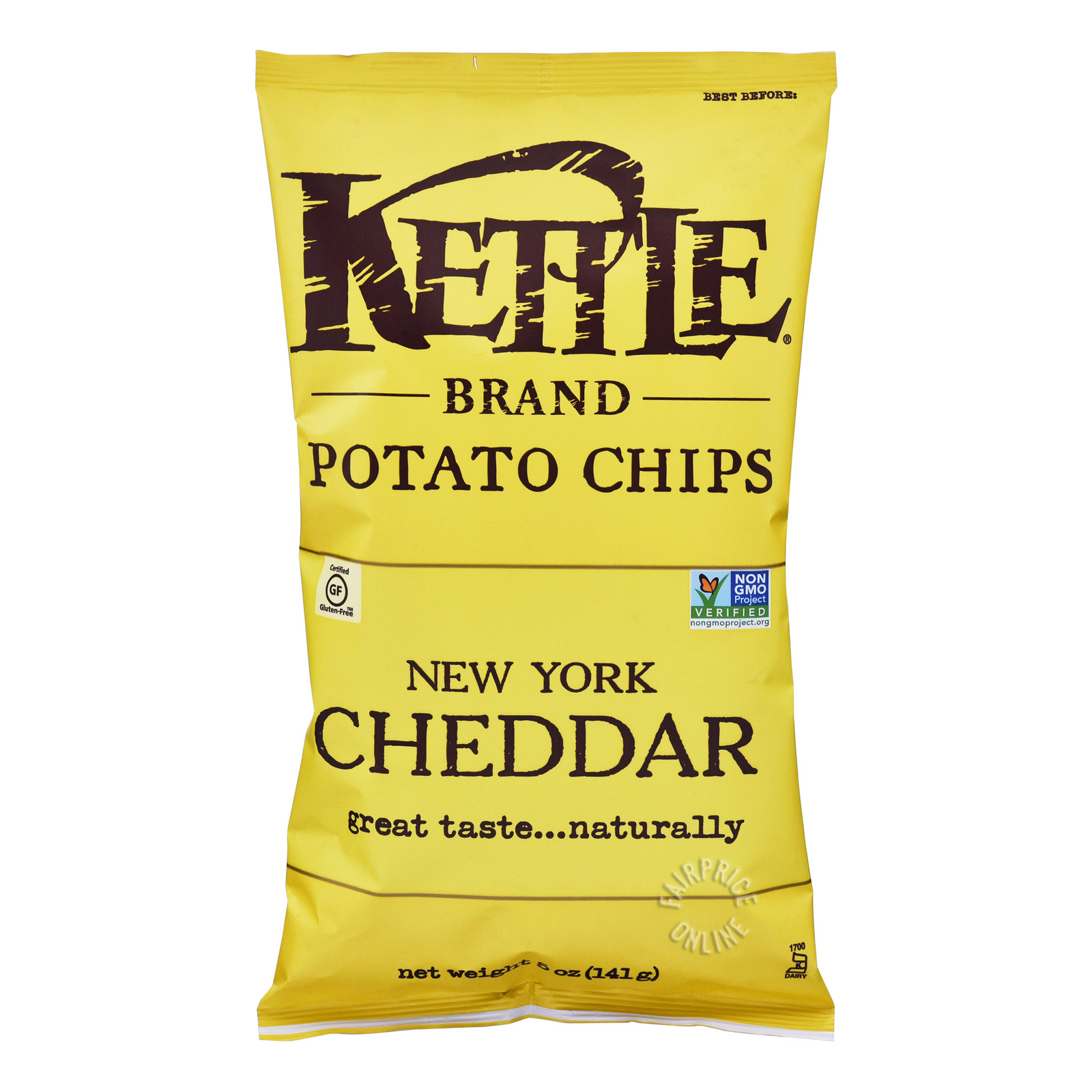 Kettle Brand Potato Chips - New York Cheddar