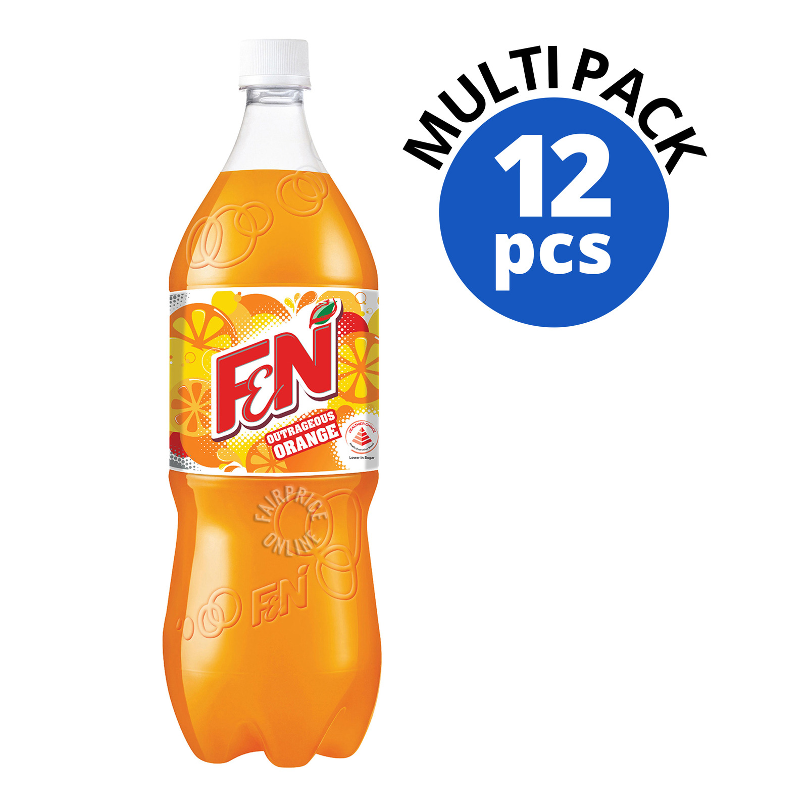 F&N Flavoured Bottle Drink - Outrageous Orange