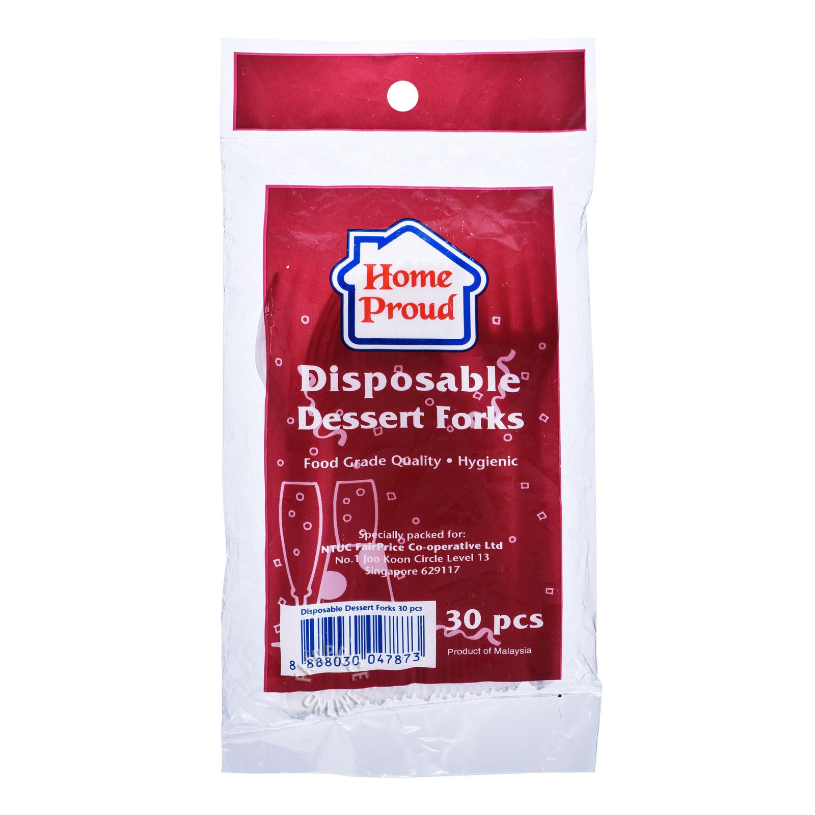HomeProud Disposable Dessert Forks