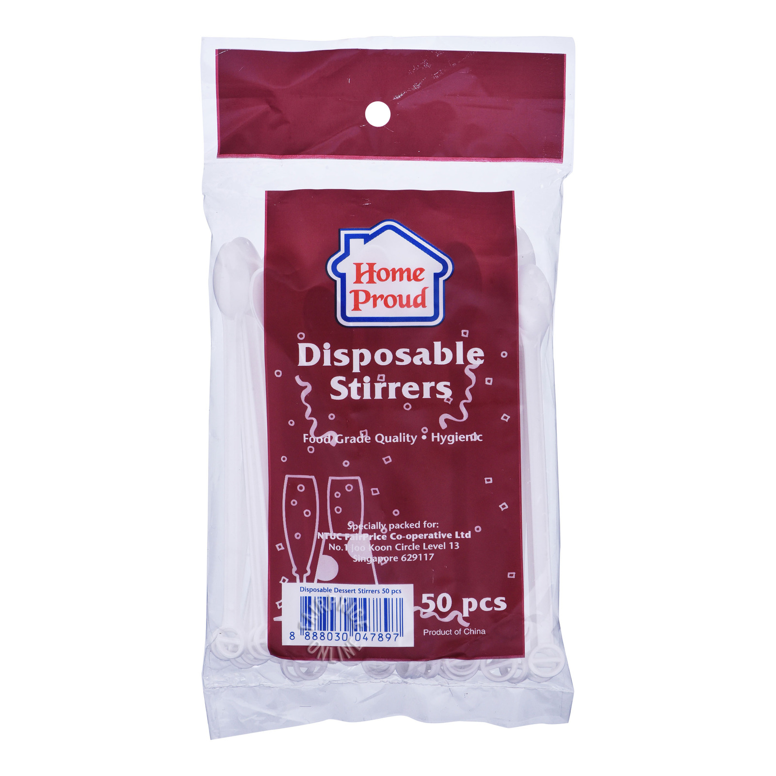 HomeProud Disposable Stirrers