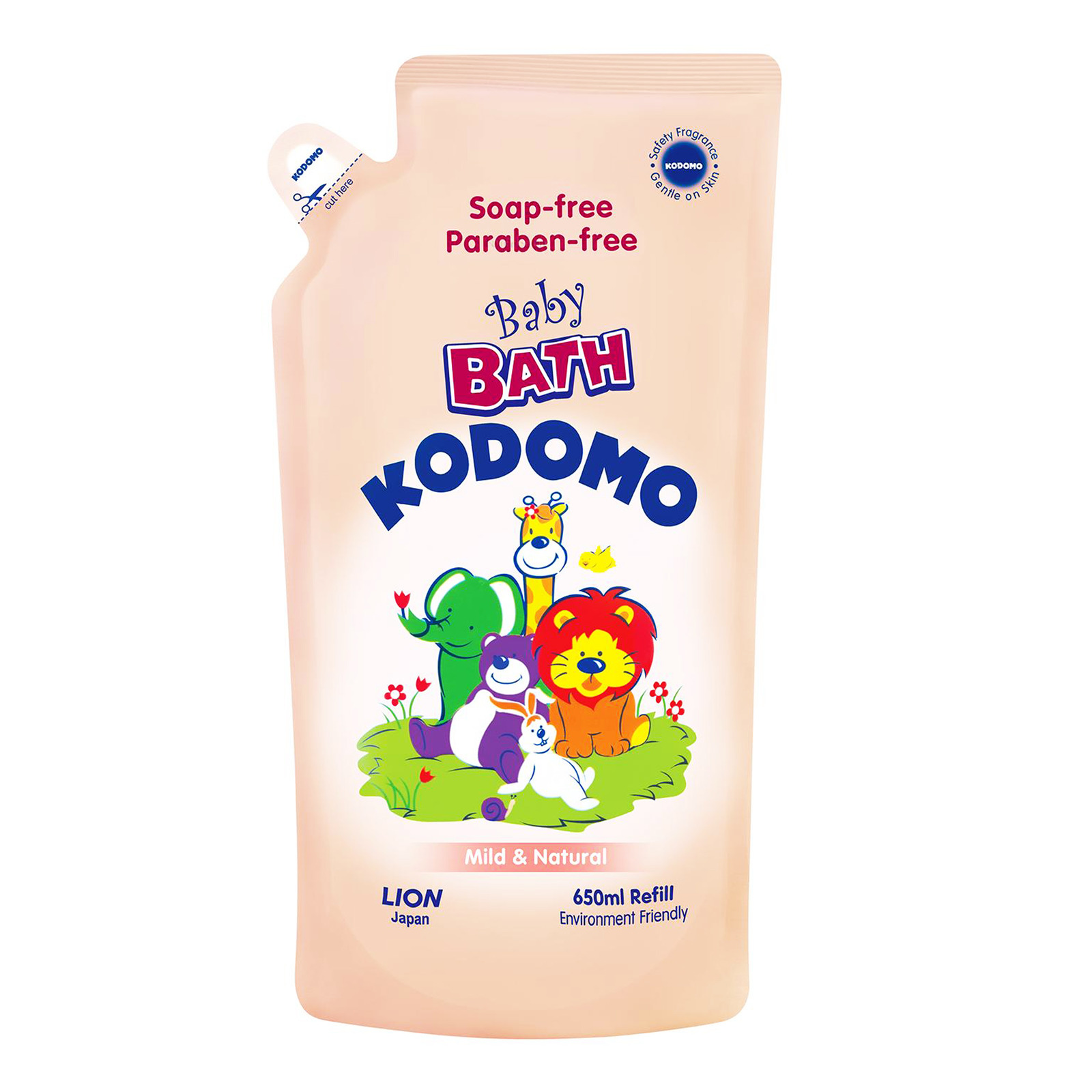 Kodomo Baby Bath Wash Refill - Mild & Natural