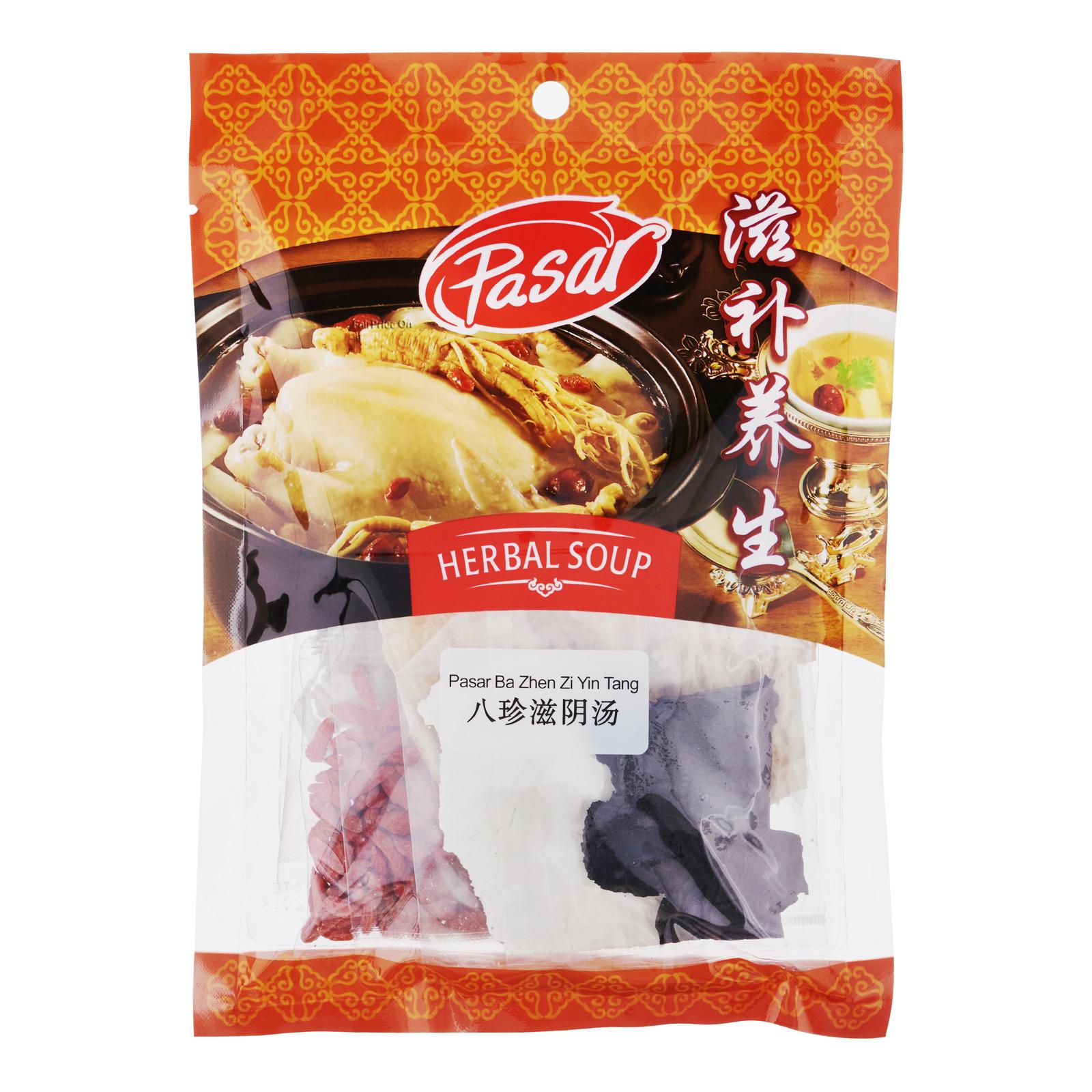 Pasar Herbal Soup - Ba Zhen Zi Yin Tang