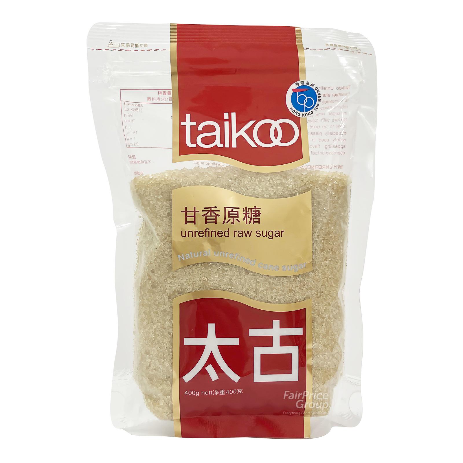 Taikoo Unrefined Cane Sugar - Raw