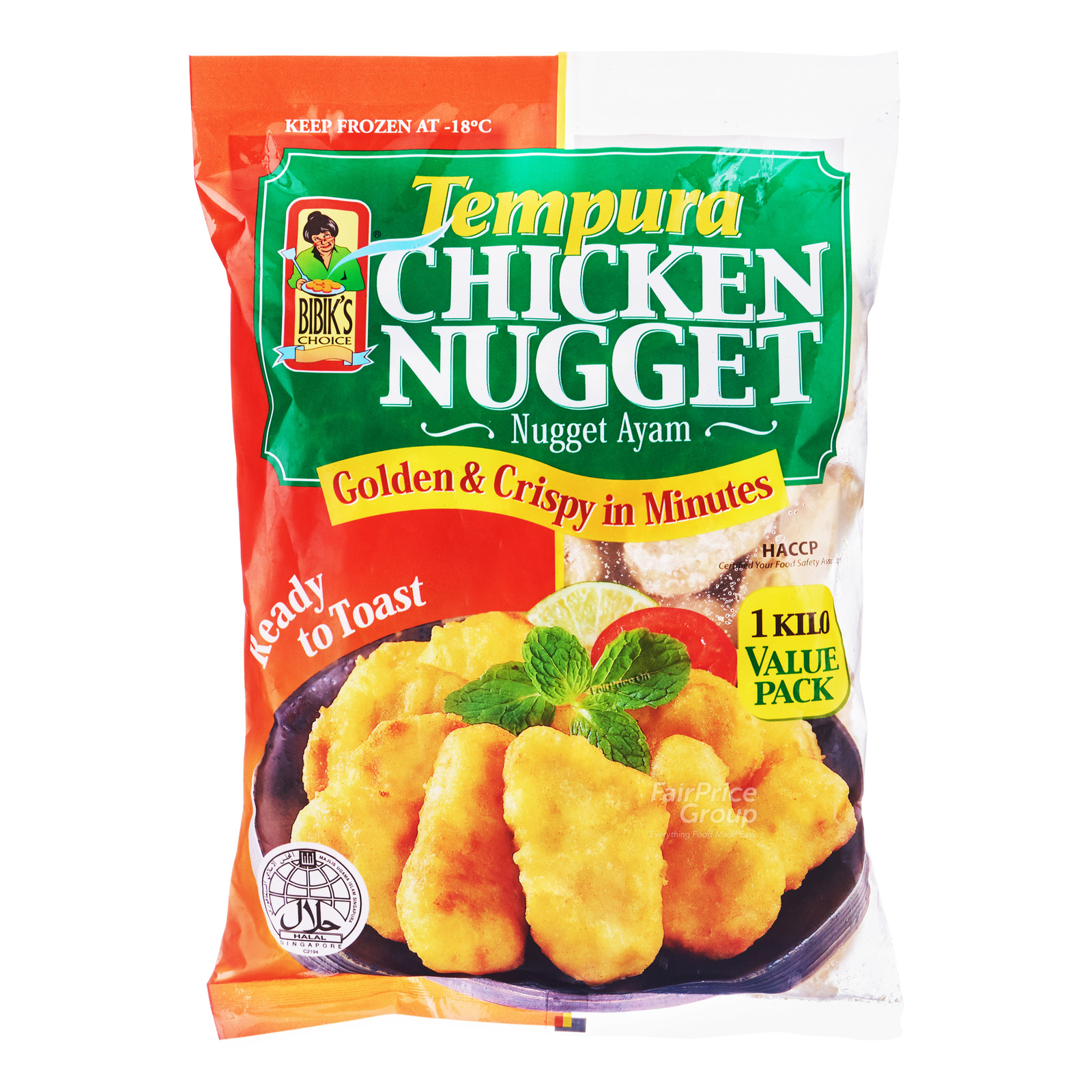 BIBIK'S CHOICE Tempura Chicken Nuggets 1kg