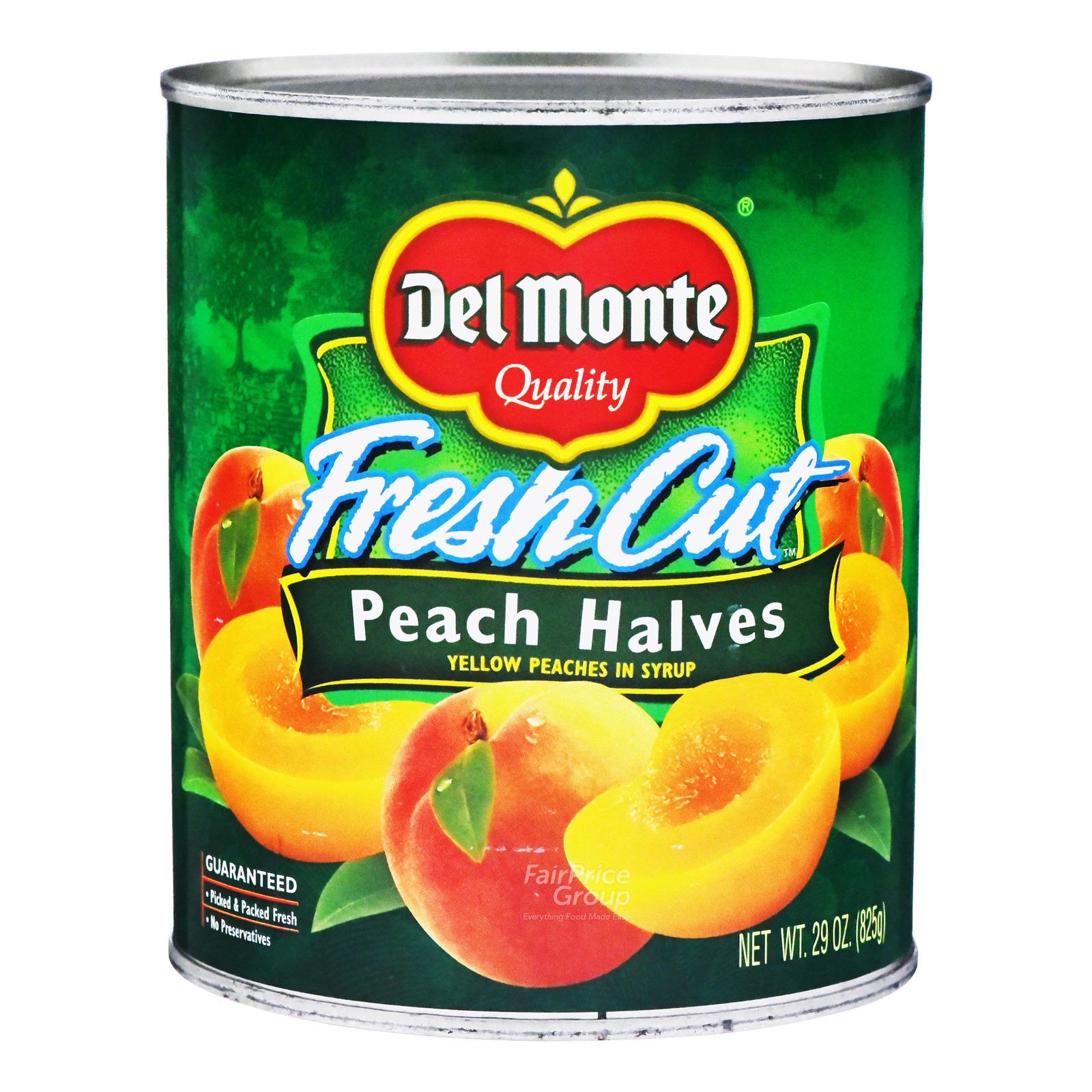 Del Monte Fresh Cut in Syrup - Peach Halves