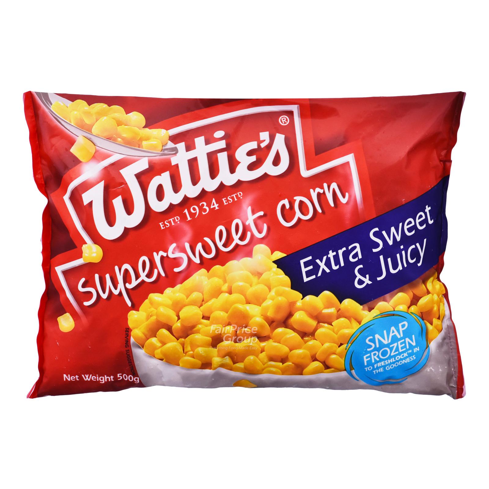 Watties Frozen Super Sweet Corn