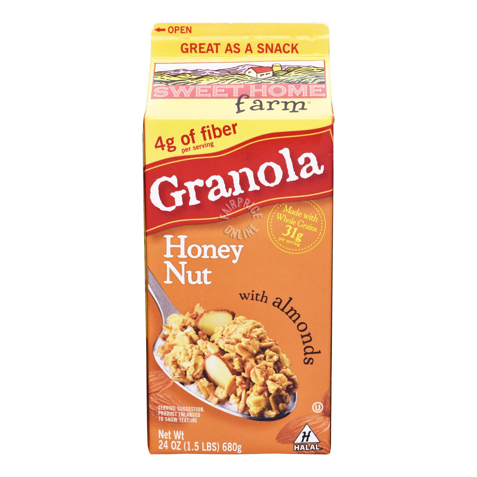Sweet Home Farm Granola - Honey Nut with Almonds